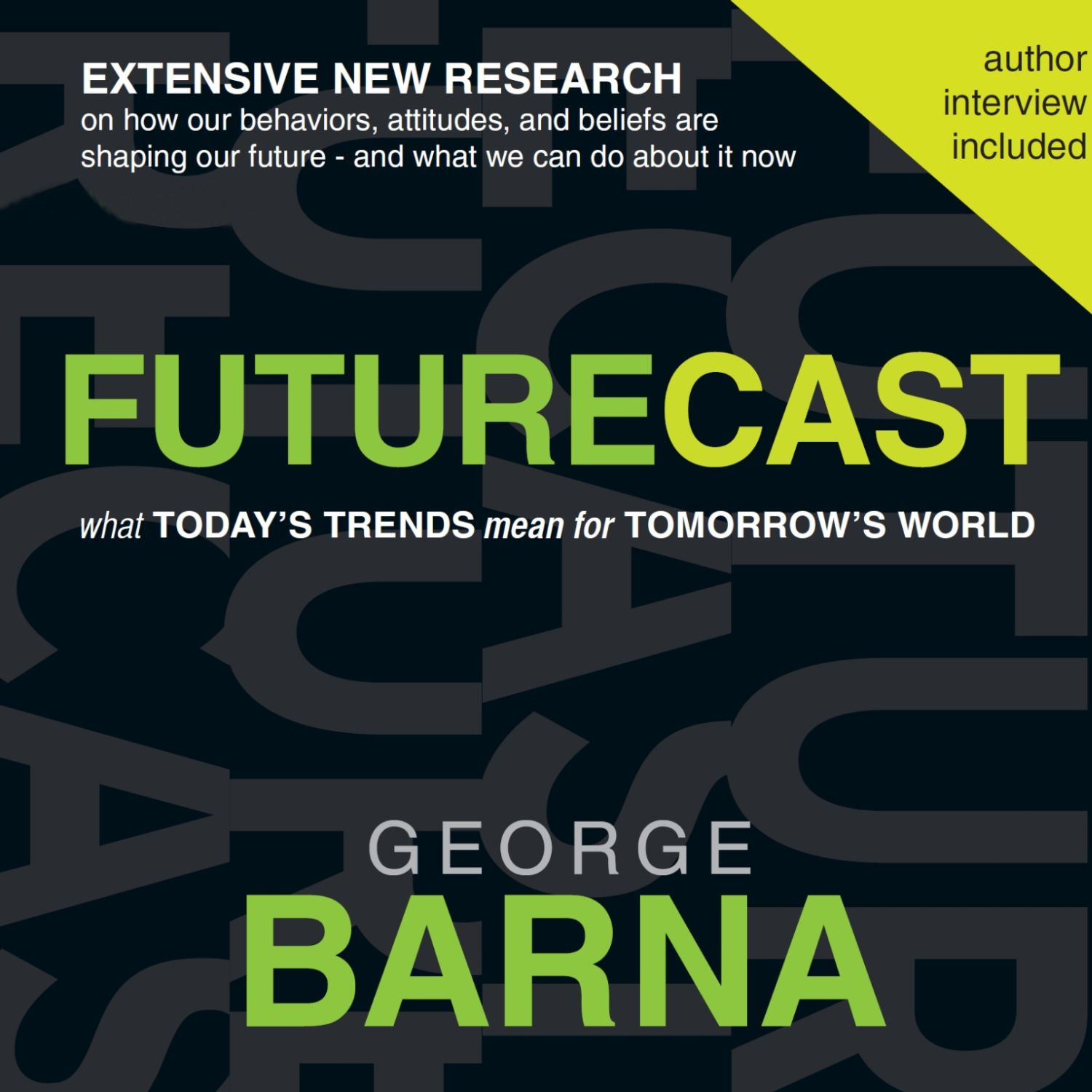 Printable Futurecast: What Today's Trends Mean for Tomorrow's World Audiobook Cover Art