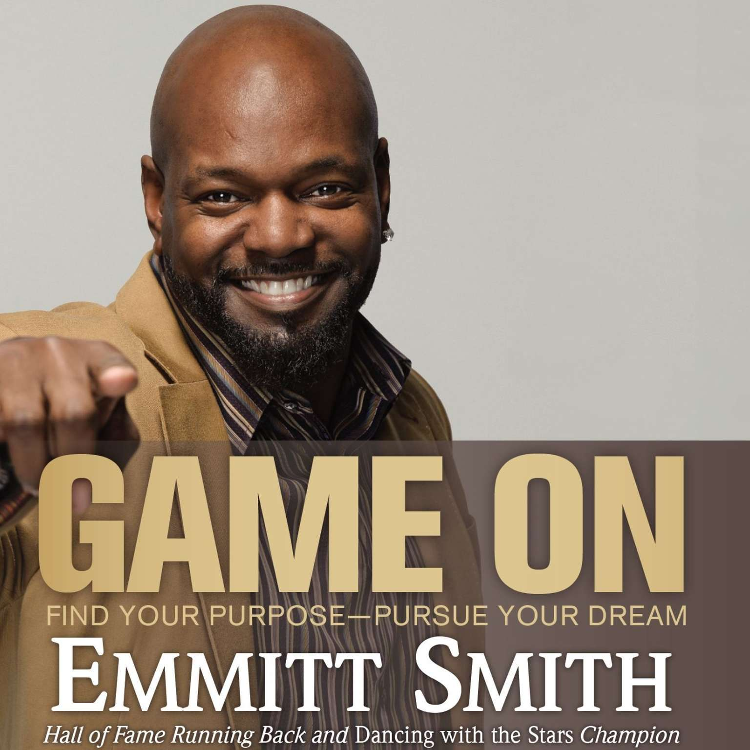 Printable Game On: Find Your Purpose—Pursue Your Dream Audiobook Cover Art