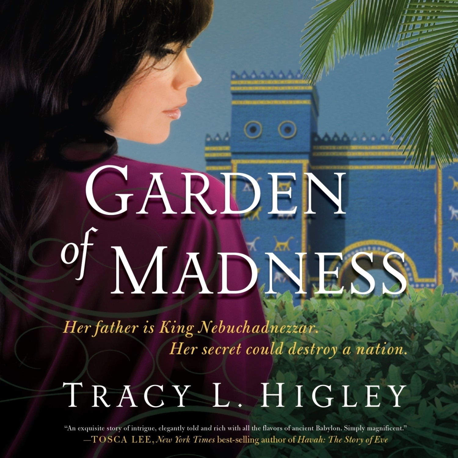 Printable Garden of Madness Audiobook Cover Art