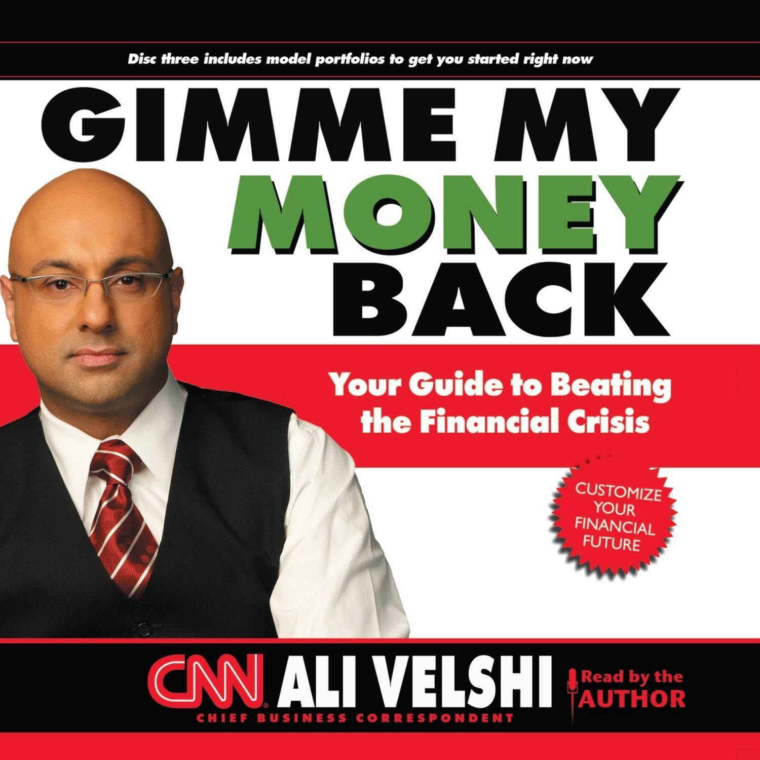 Printable Gimme My Money Back Audiobook Cover Art