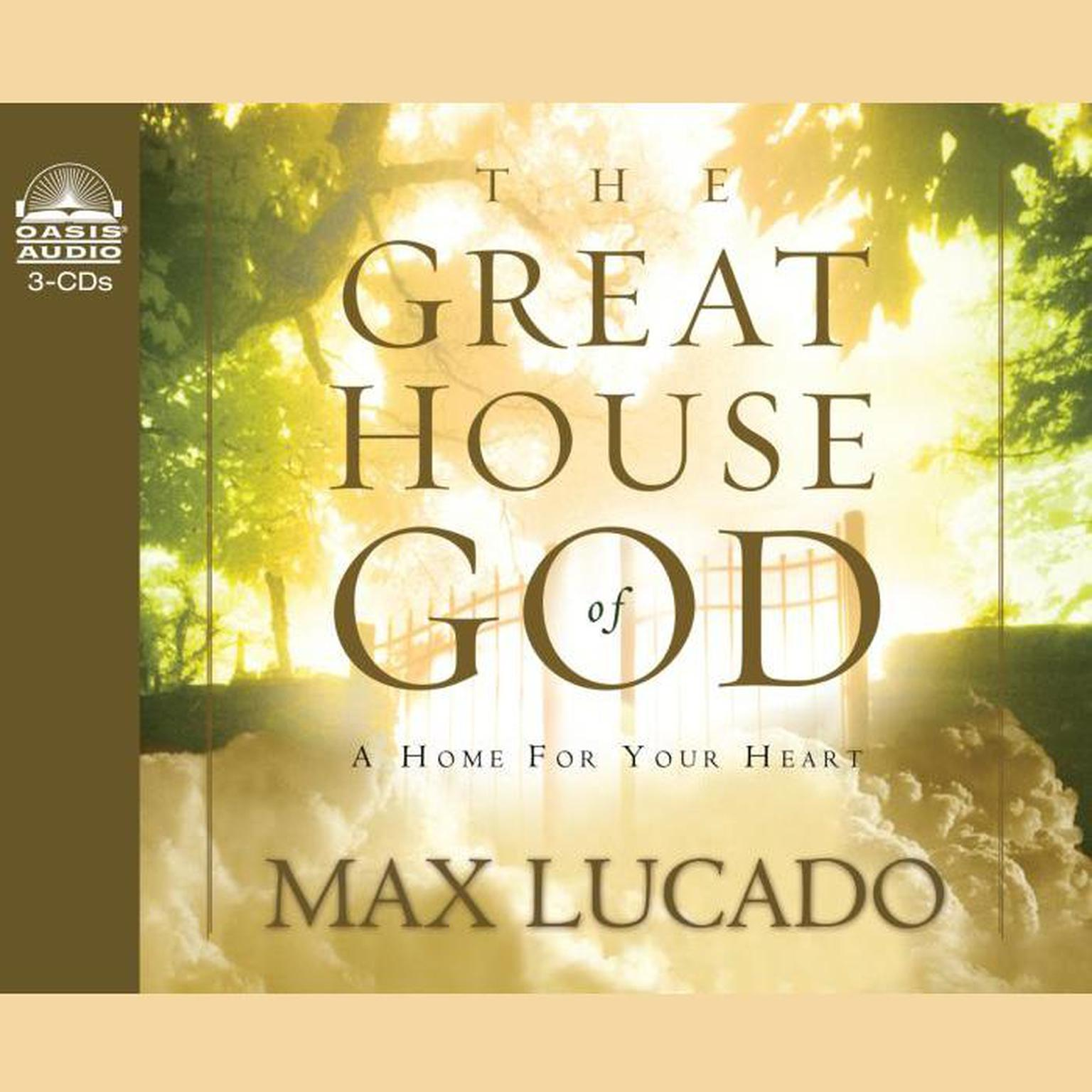 Printable Great House of God Audiobook Cover Art