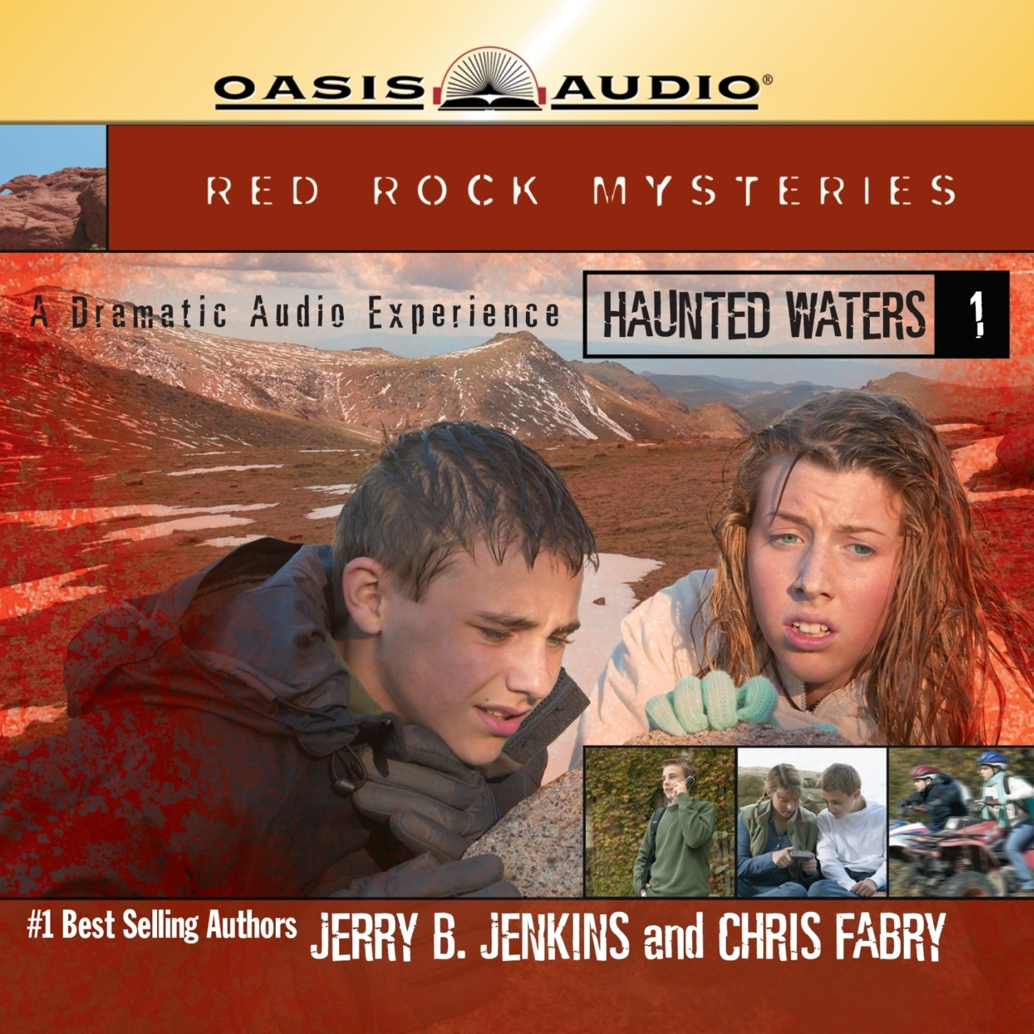 Printable Haunted Waters: A Dramatic Audio Experience Audiobook Cover Art