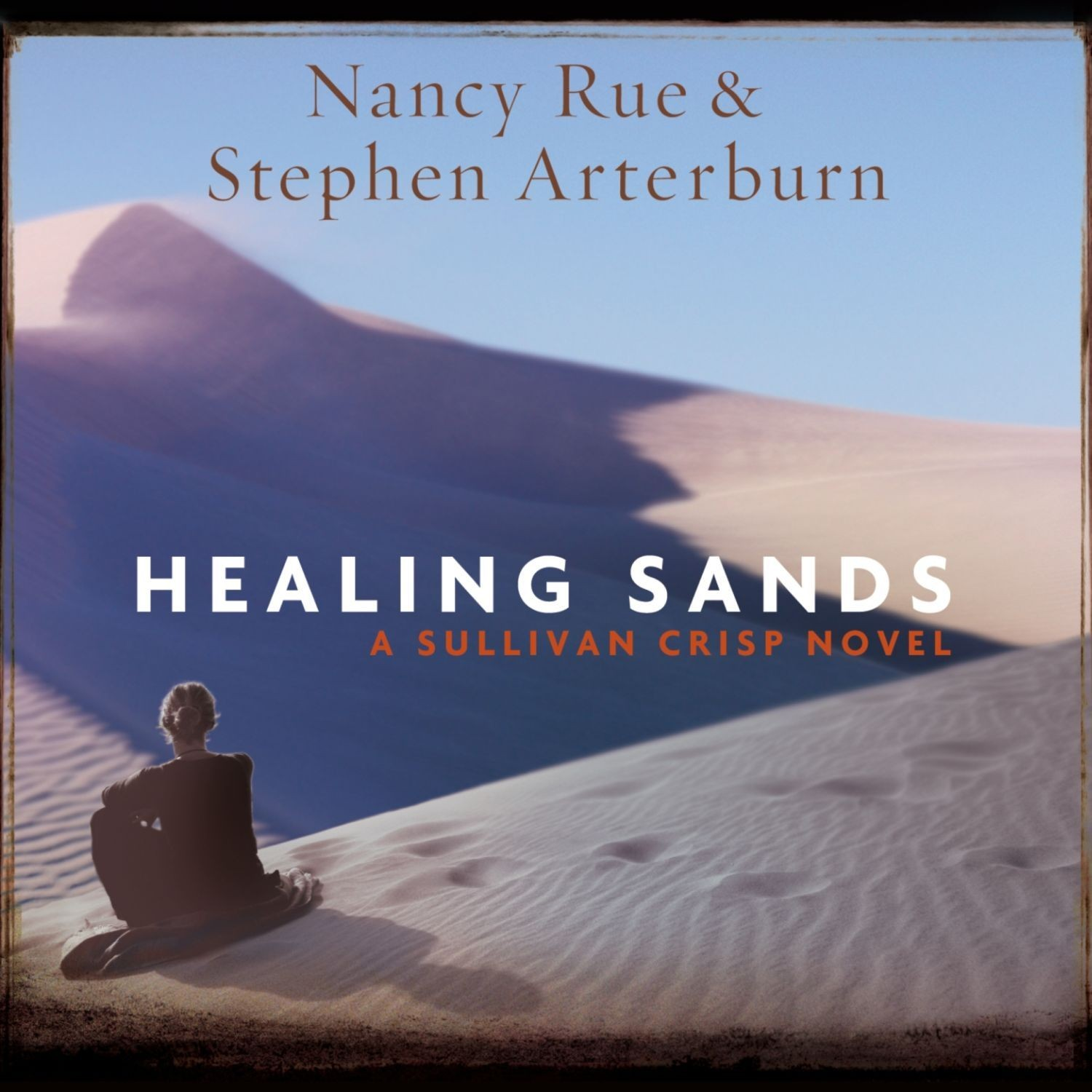 Printable Healing Sands: A Sullivan Crisp Novel Audiobook Cover Art