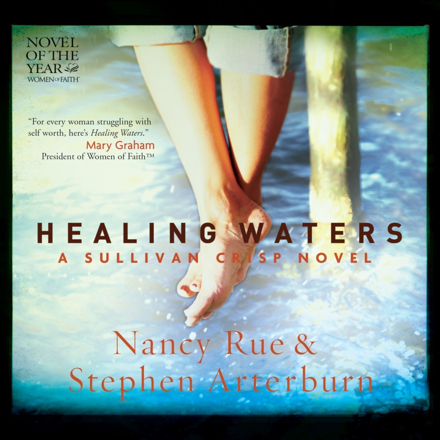 Printable Healing Waters Audiobook Cover Art