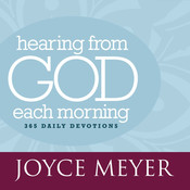 Hearing from God Each Morning: 365 Daily Devotions, by Joyce Meyer