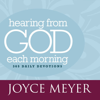 Hearing From God Each Morning: 365 Daily Devotions Audiobook, by Joyce Meyer