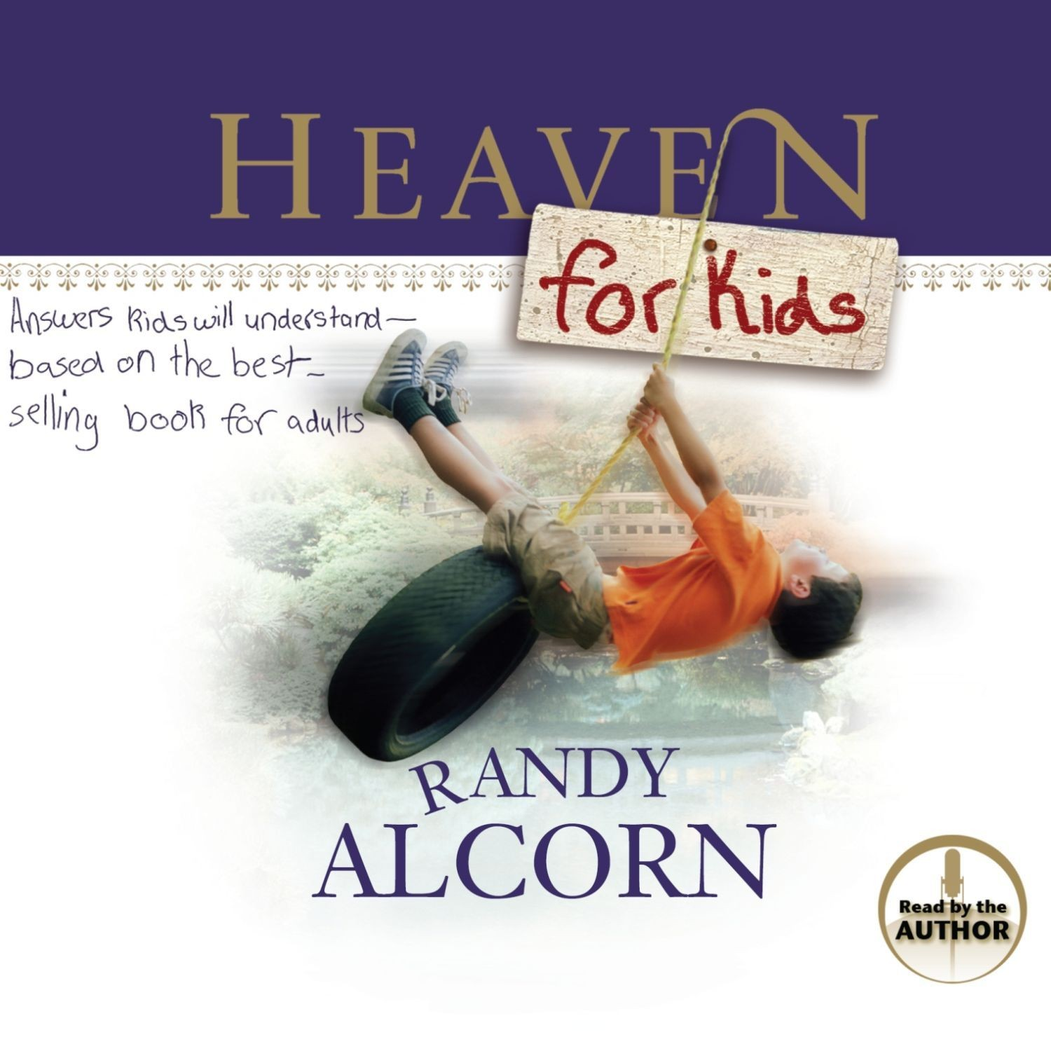 Printable Heaven for Kids Audiobook Cover Art