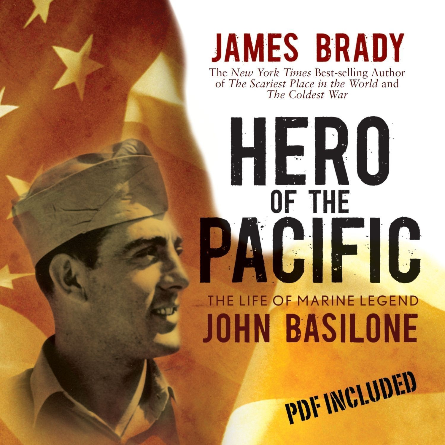Printable Hero of the Pacific: The Life of Marine Legend John Basilone Audiobook Cover Art