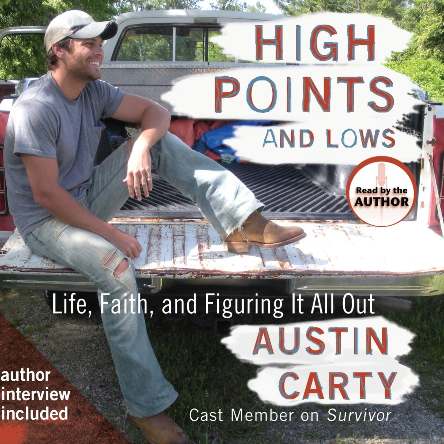 Printable High Points and Lows: Life, Faith and Figuring It All Out Audiobook Cover Art
