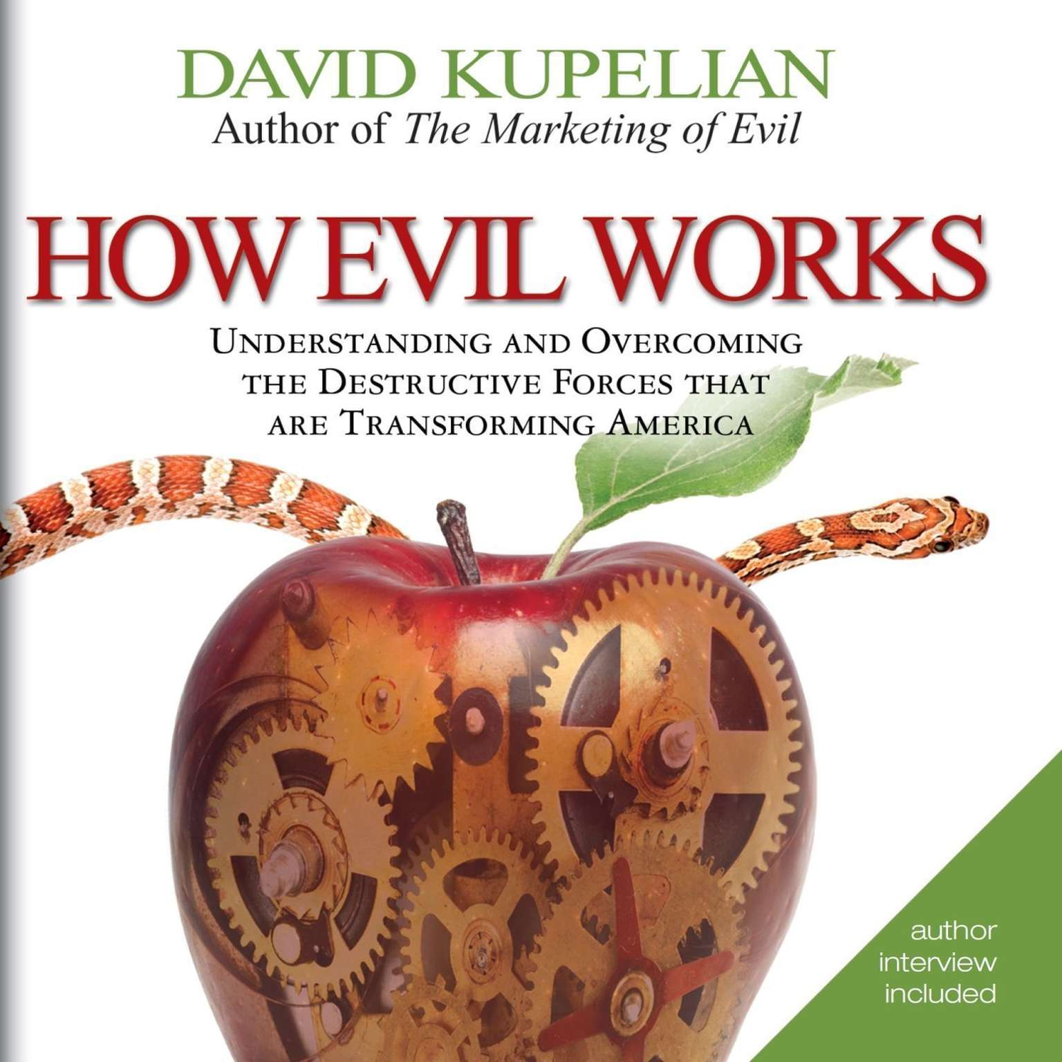 Printable How Evil Works: Understanding and Overcoming the Destructive Forces That Are Transforming America Audiobook Cover Art