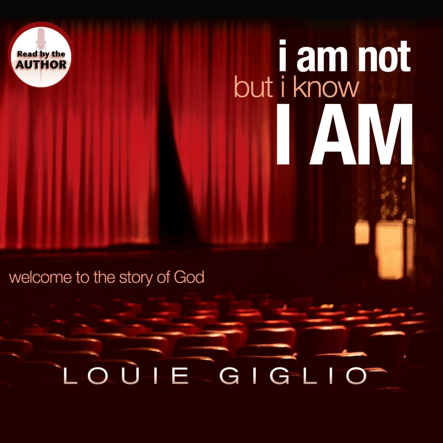 Printable I Am Not, But I Know I Am: Welcome to the Story of God Audiobook Cover Art