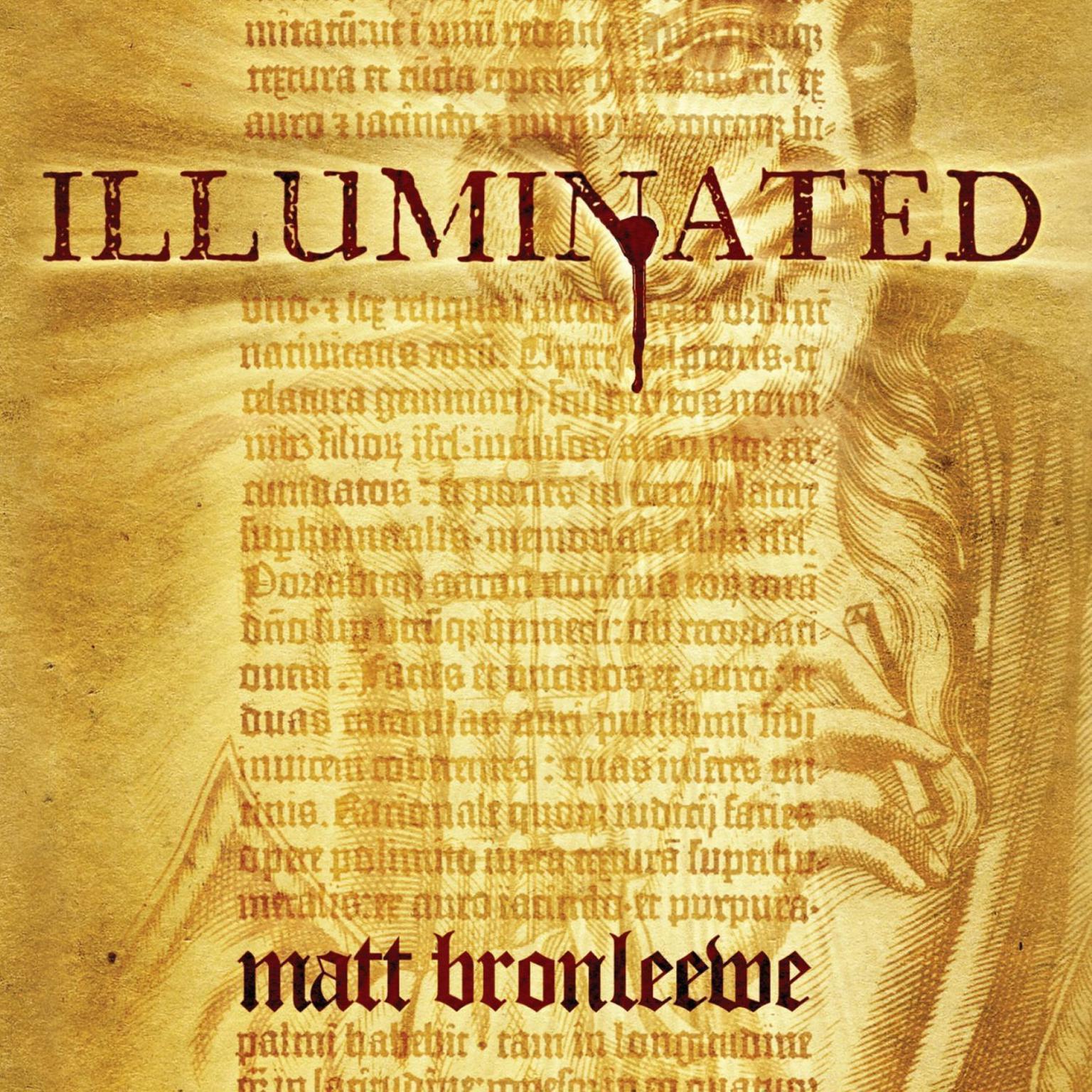 Printable Illuminated Audiobook Cover Art