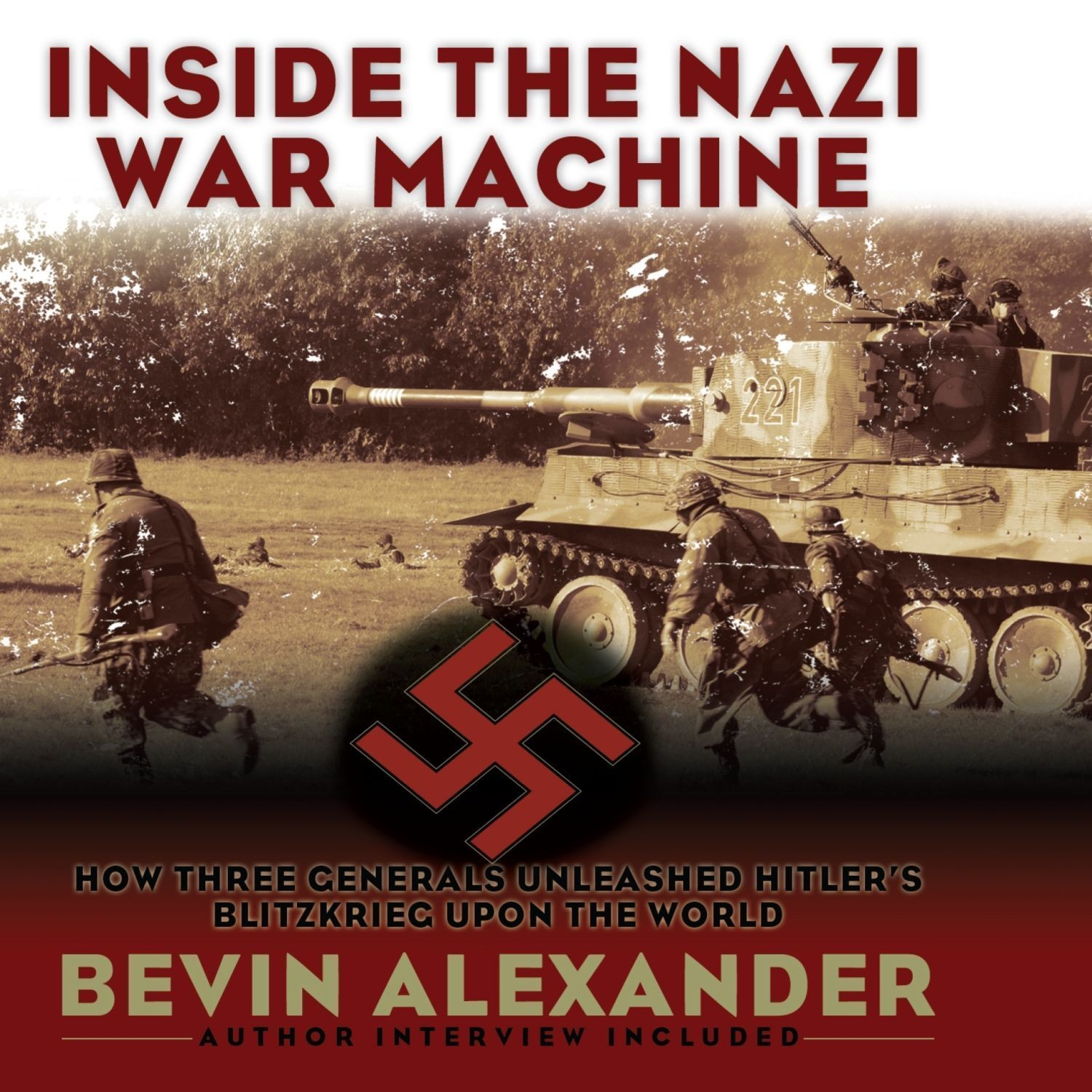 Printable Inside the Nazi War Machine: How Three Generals Unleashed Hitler's Blitzkrieg Upon the World Audiobook Cover Art