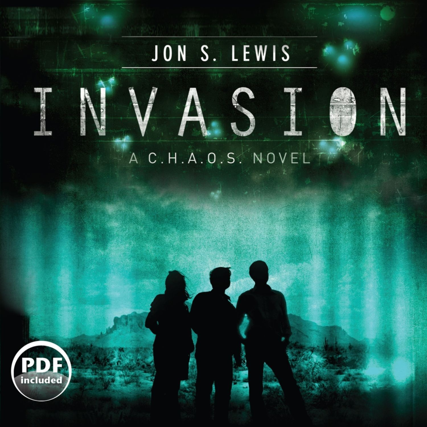 Printable Invasion Audiobook Cover Art