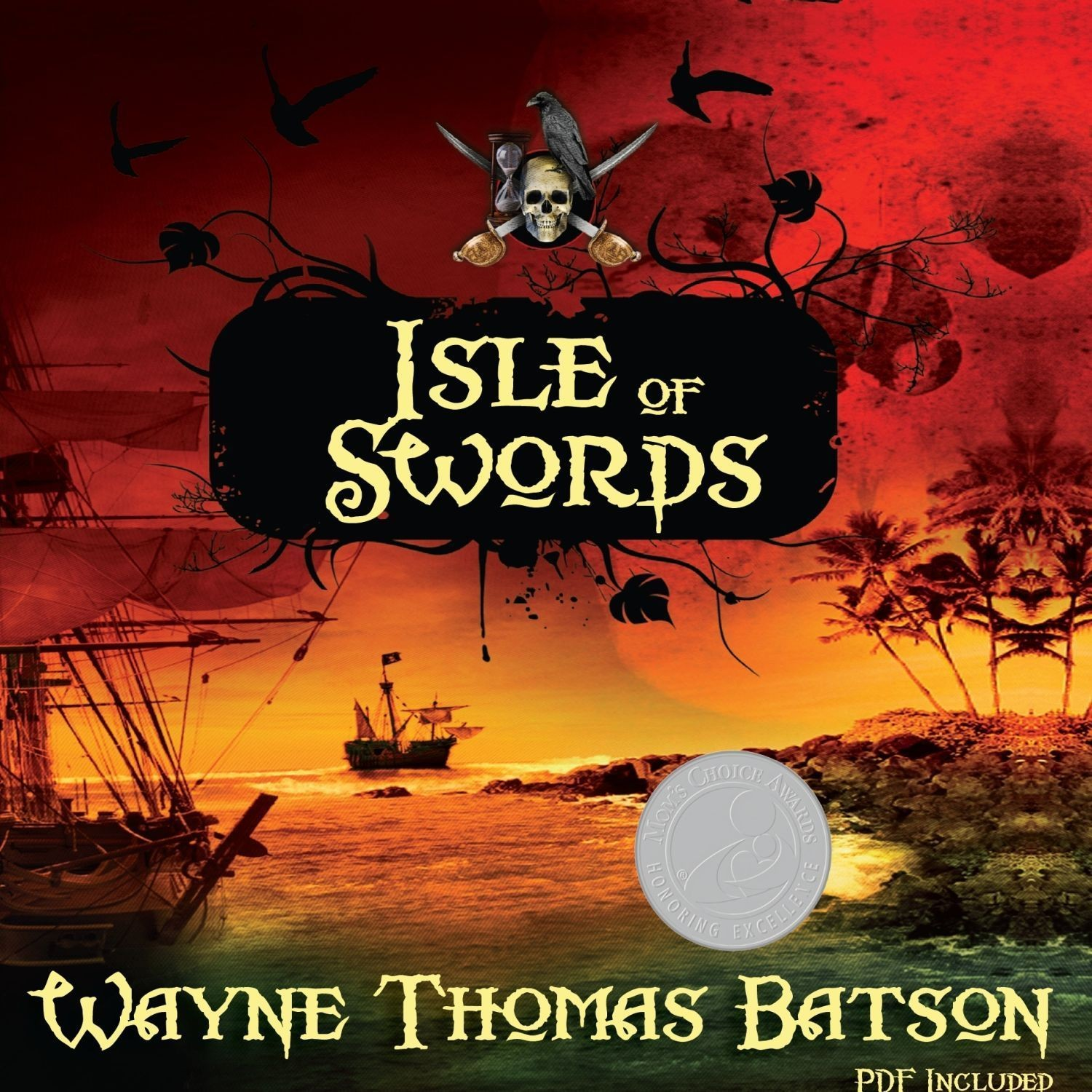 Printable Isle of Swords Audiobook Cover Art