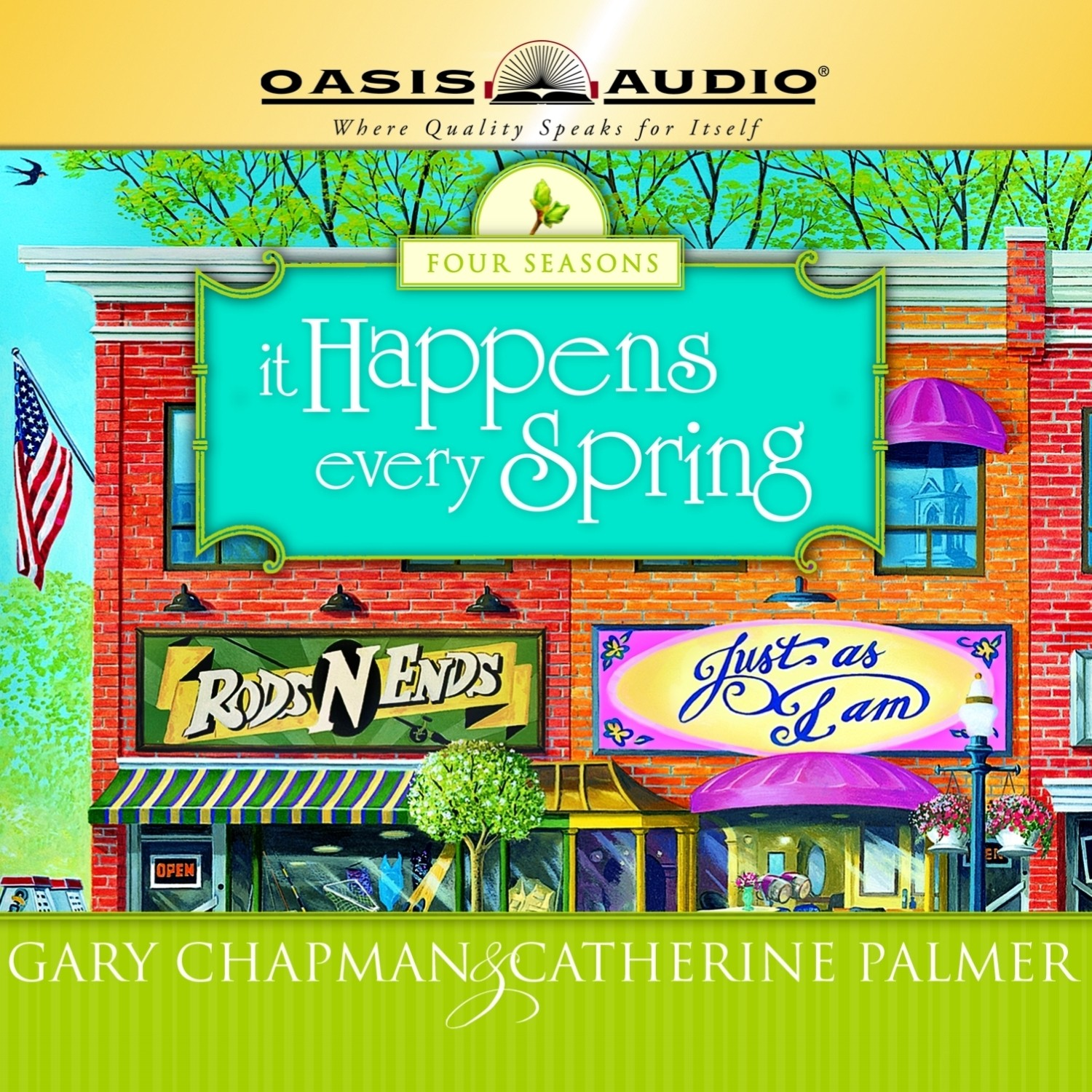 Printable It Happens Every Spring Audiobook Cover Art