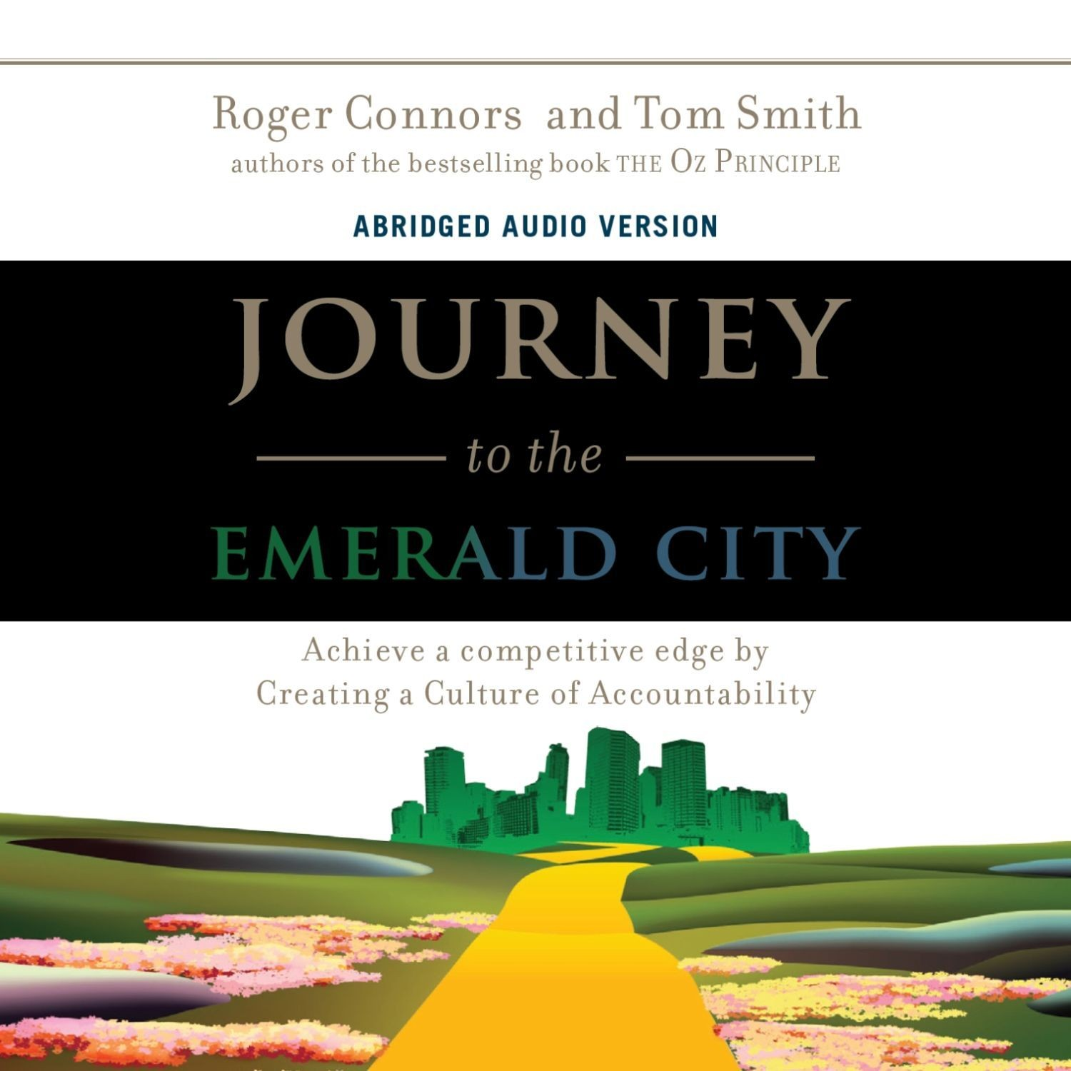 Printable Journey to the Emerald City Audiobook Cover Art