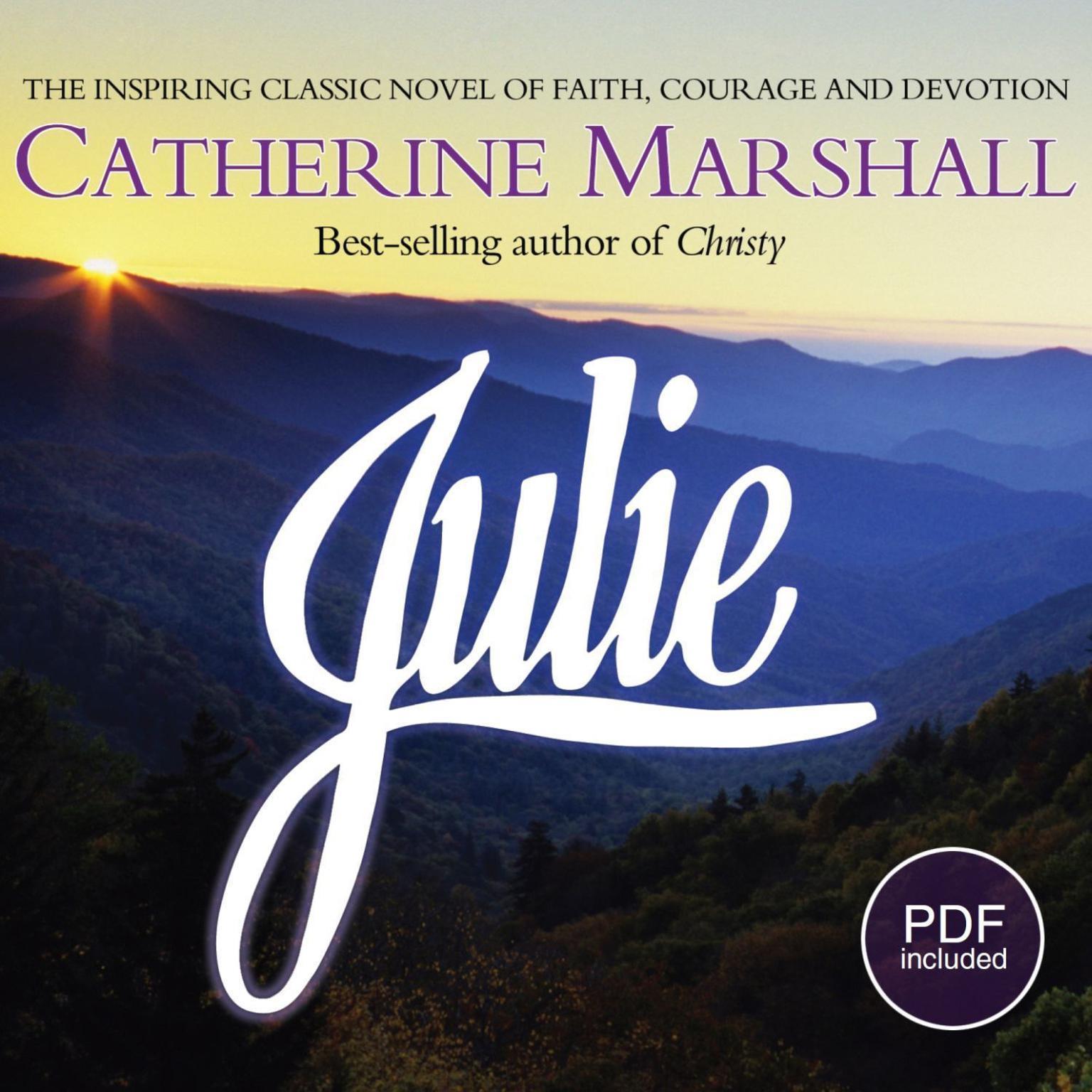 Printable Julie Audiobook Cover Art