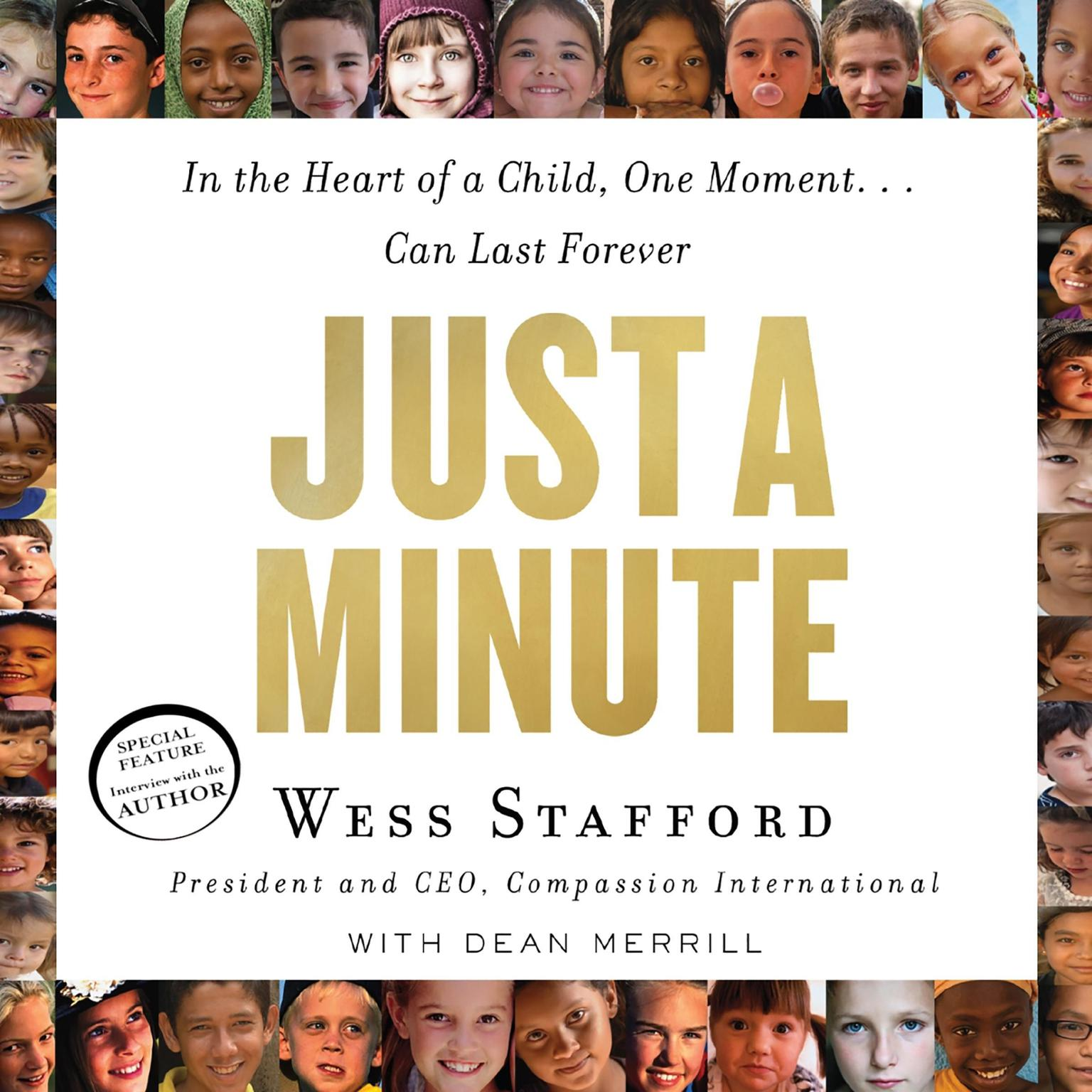Printable Just a Minute: In the Heart of a Child, One Moment… Can Last Forever Audiobook Cover Art