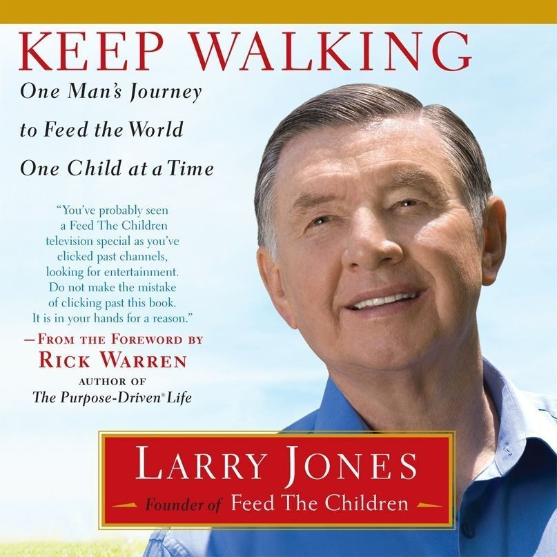 Printable Keep Walking: One Man's Journey to Feed the World One Child at a Time Audiobook Cover Art