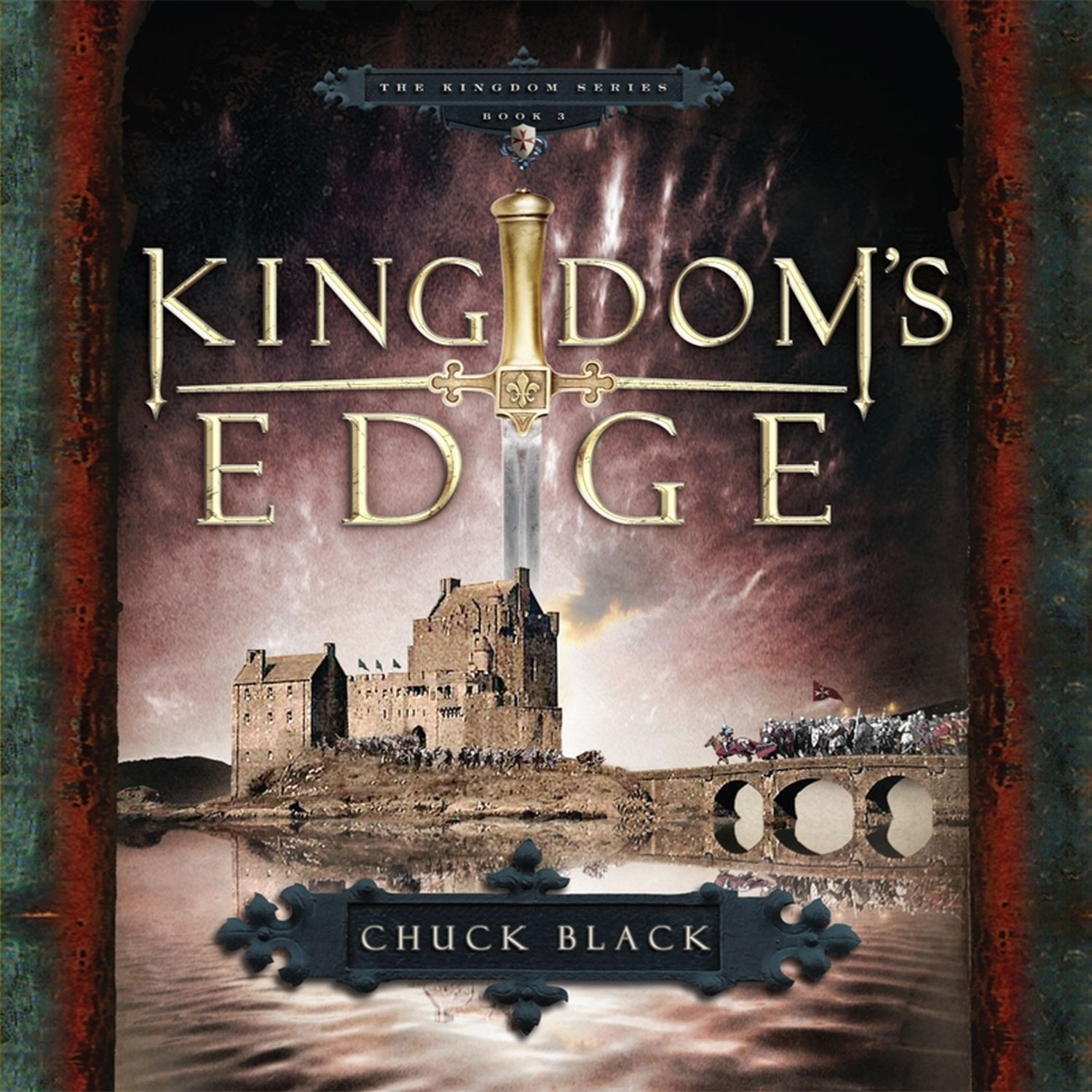 Printable Kingdom's Edge Audiobook Cover Art