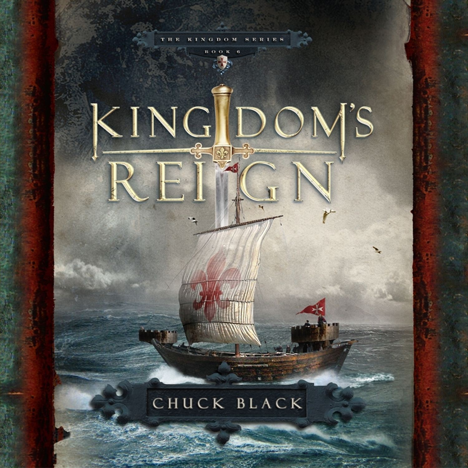 Printable Kingdom's Reign Audiobook Cover Art