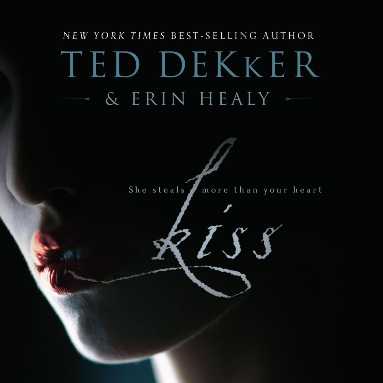 Printable Kiss Audiobook Cover Art
