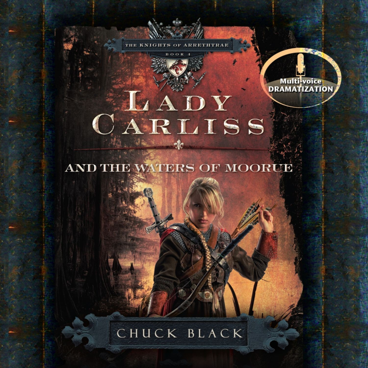 Printable Lady Carliss and the Waters of Moorue Audiobook Cover Art