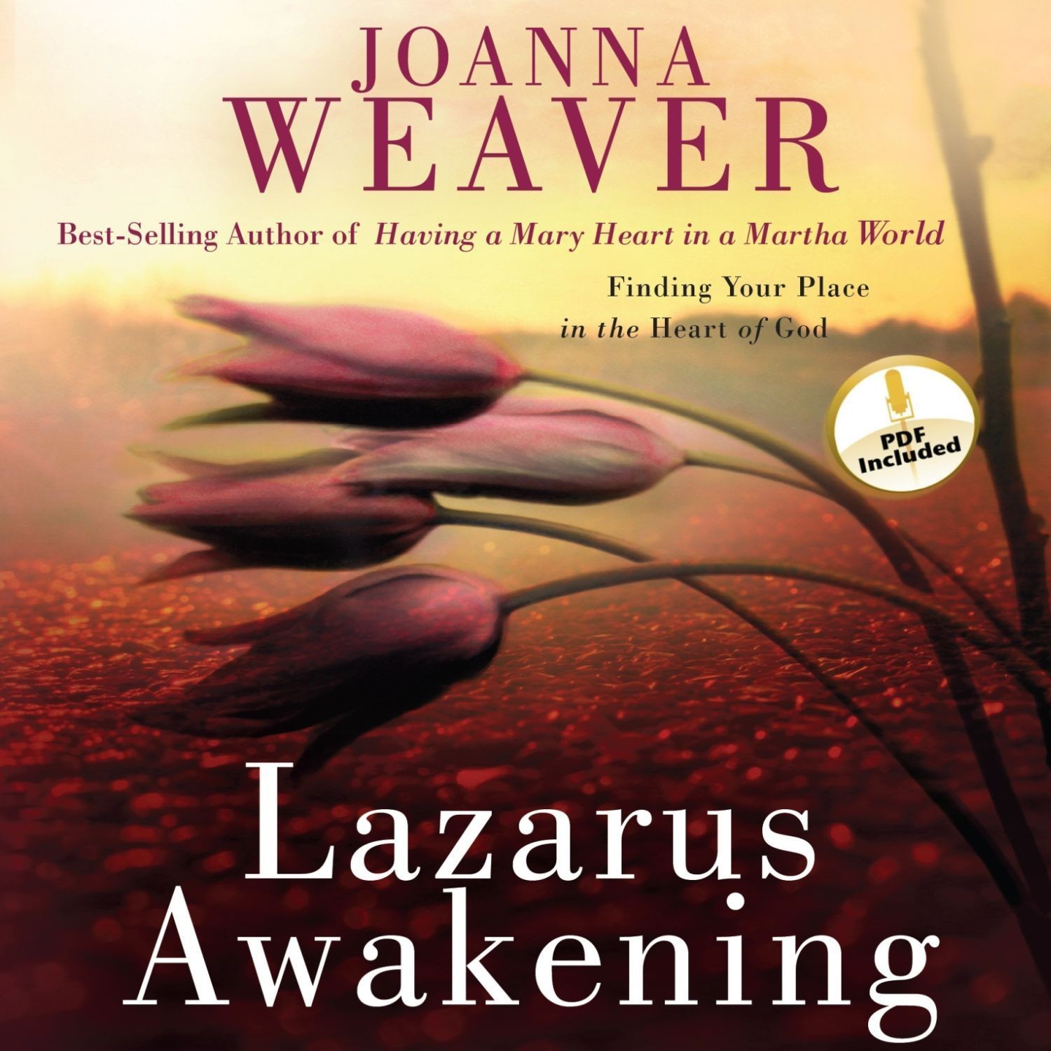Printable Lazarus Awakening: Finding Your Place in the Heart of God Audiobook Cover Art
