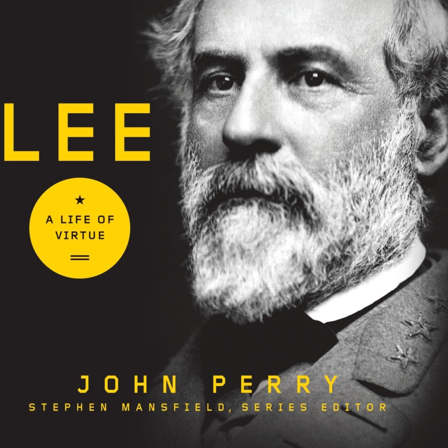 Printable Lee: A Life of Virtue Audiobook Cover Art