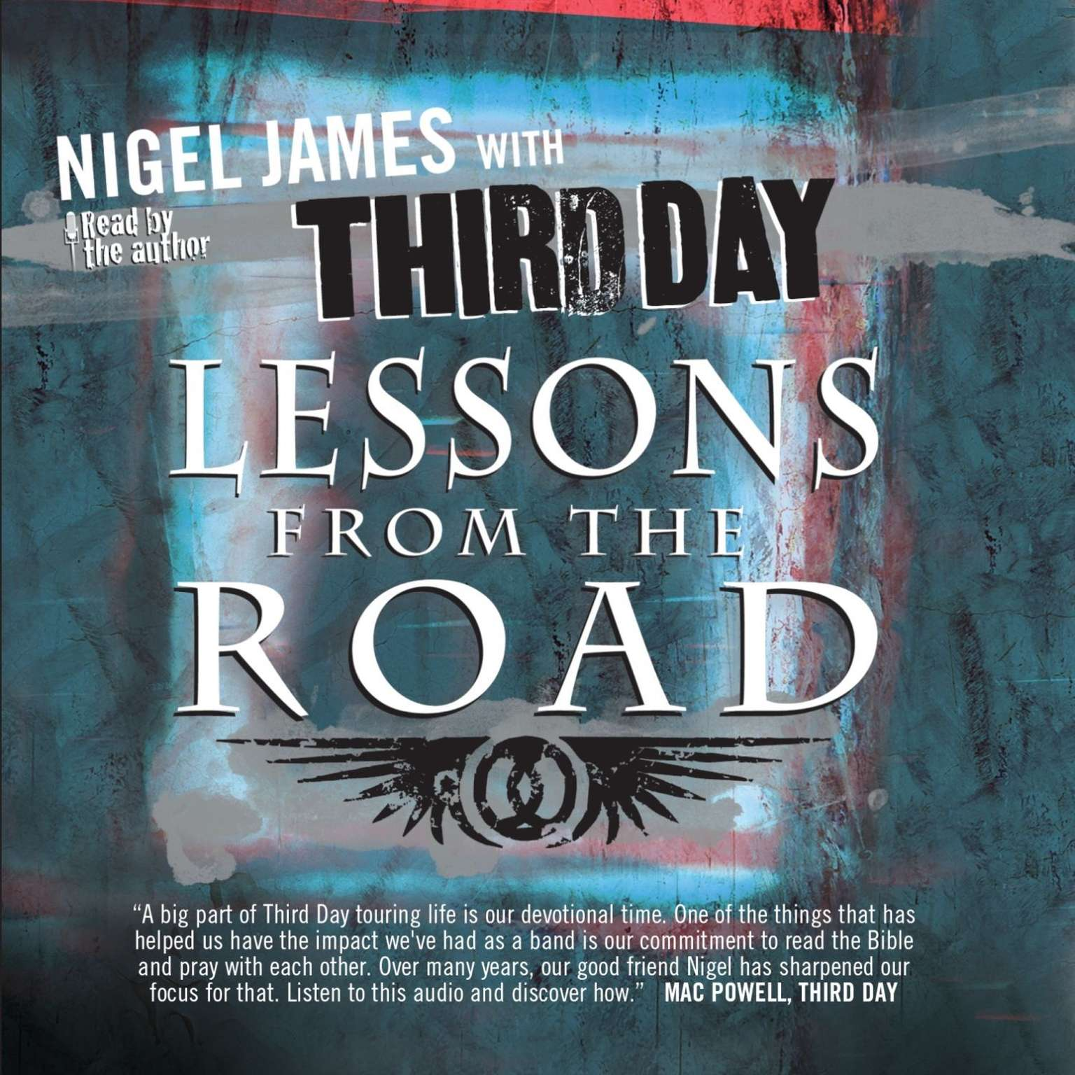 Printable Lessons from the Road Audiobook Cover Art