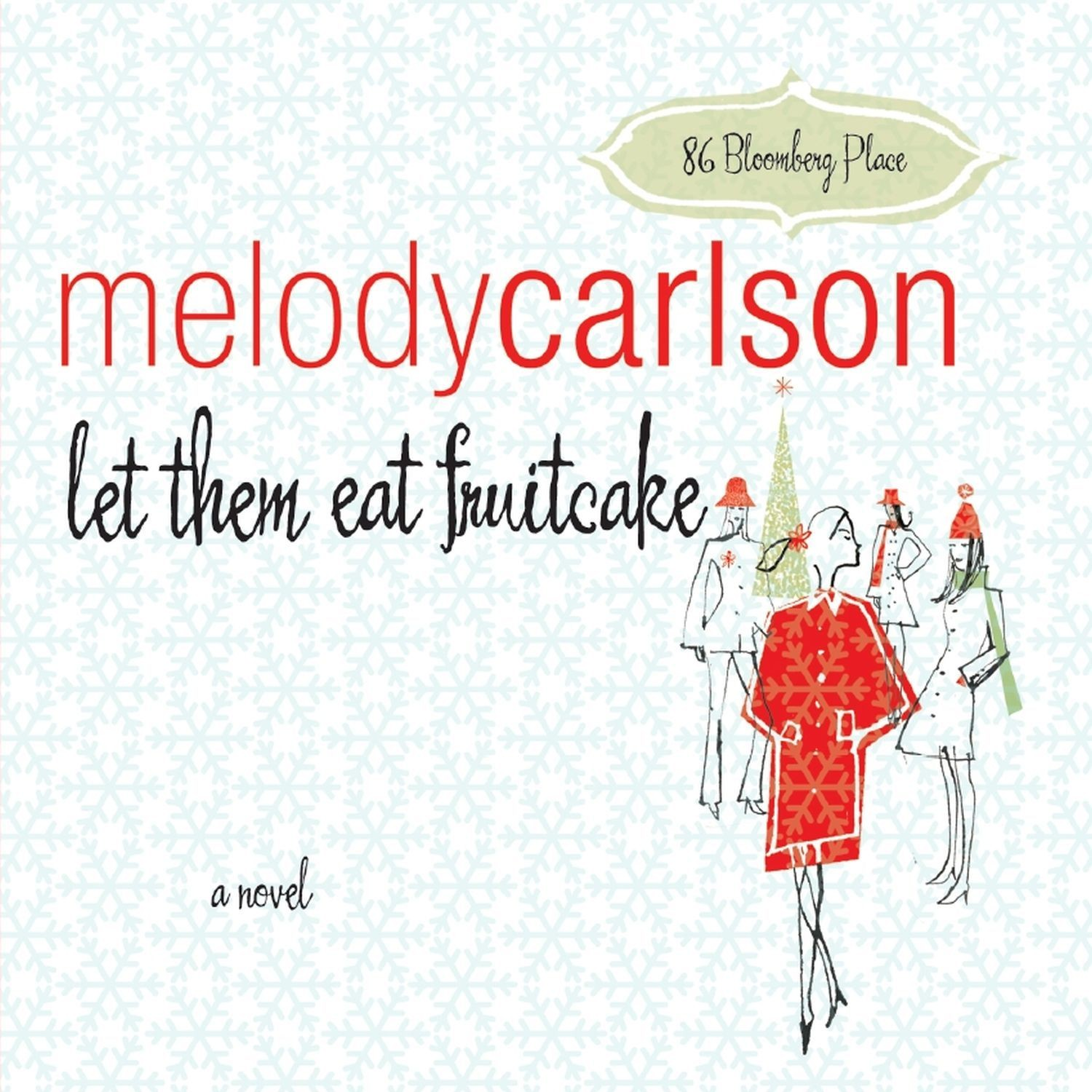 Printable Let Them Eat Fruitcake Audiobook Cover Art
