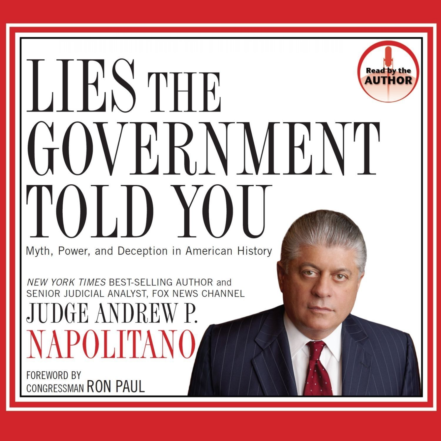 Printable Lies the Government Told You: Myth, Power, and Deception in American History Audiobook Cover Art