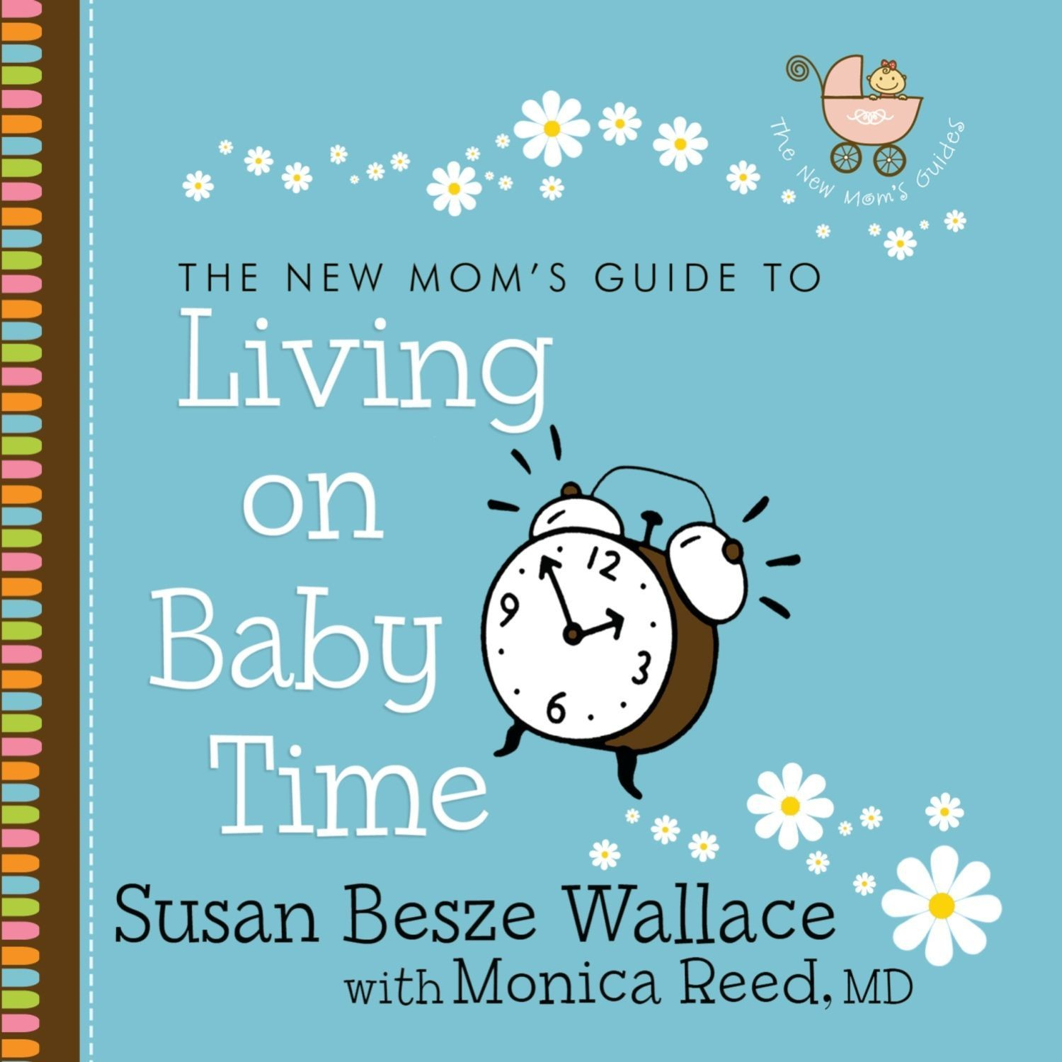Printable Living on Baby Time Audiobook Cover Art