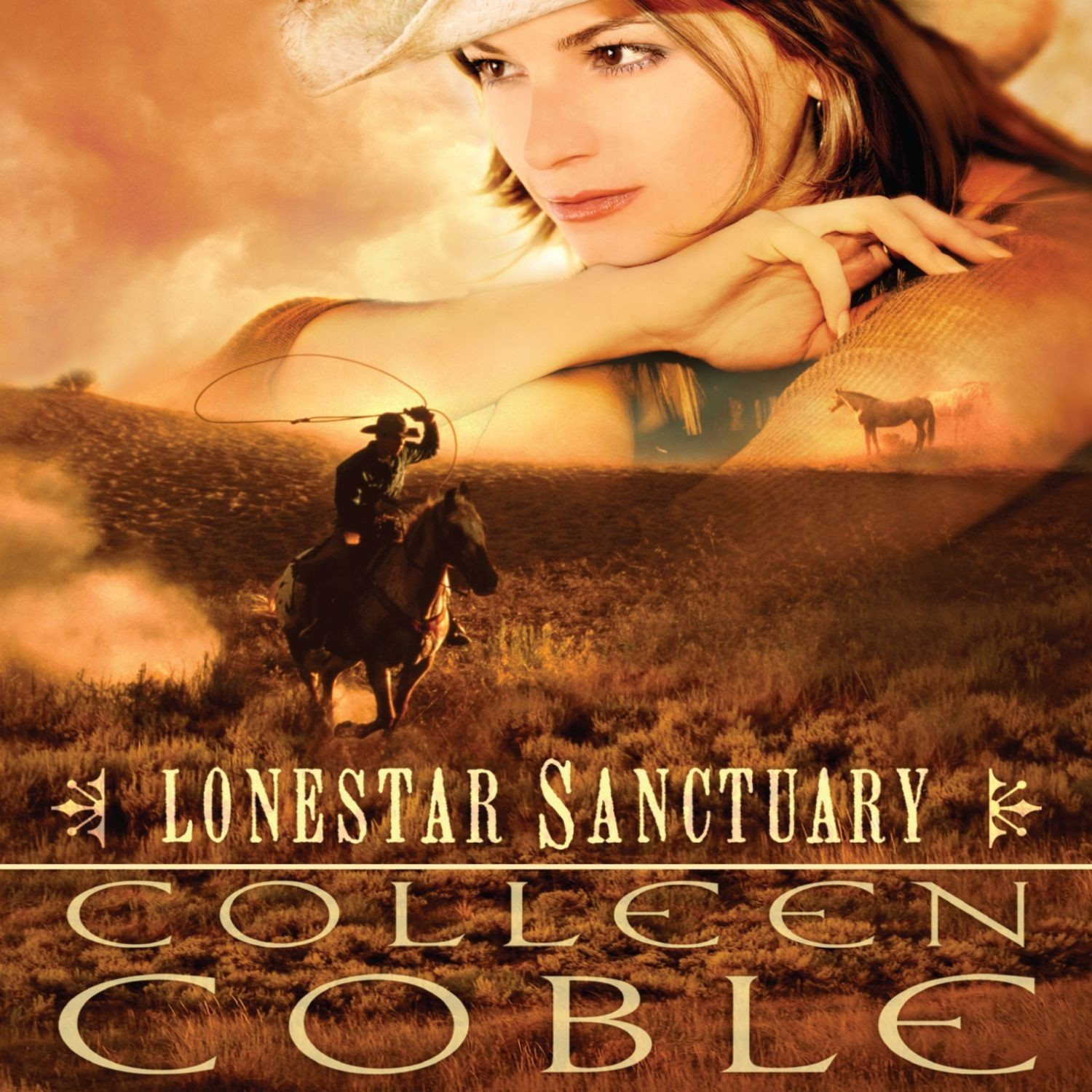 Printable Lonestar Sanctuary Audiobook Cover Art
