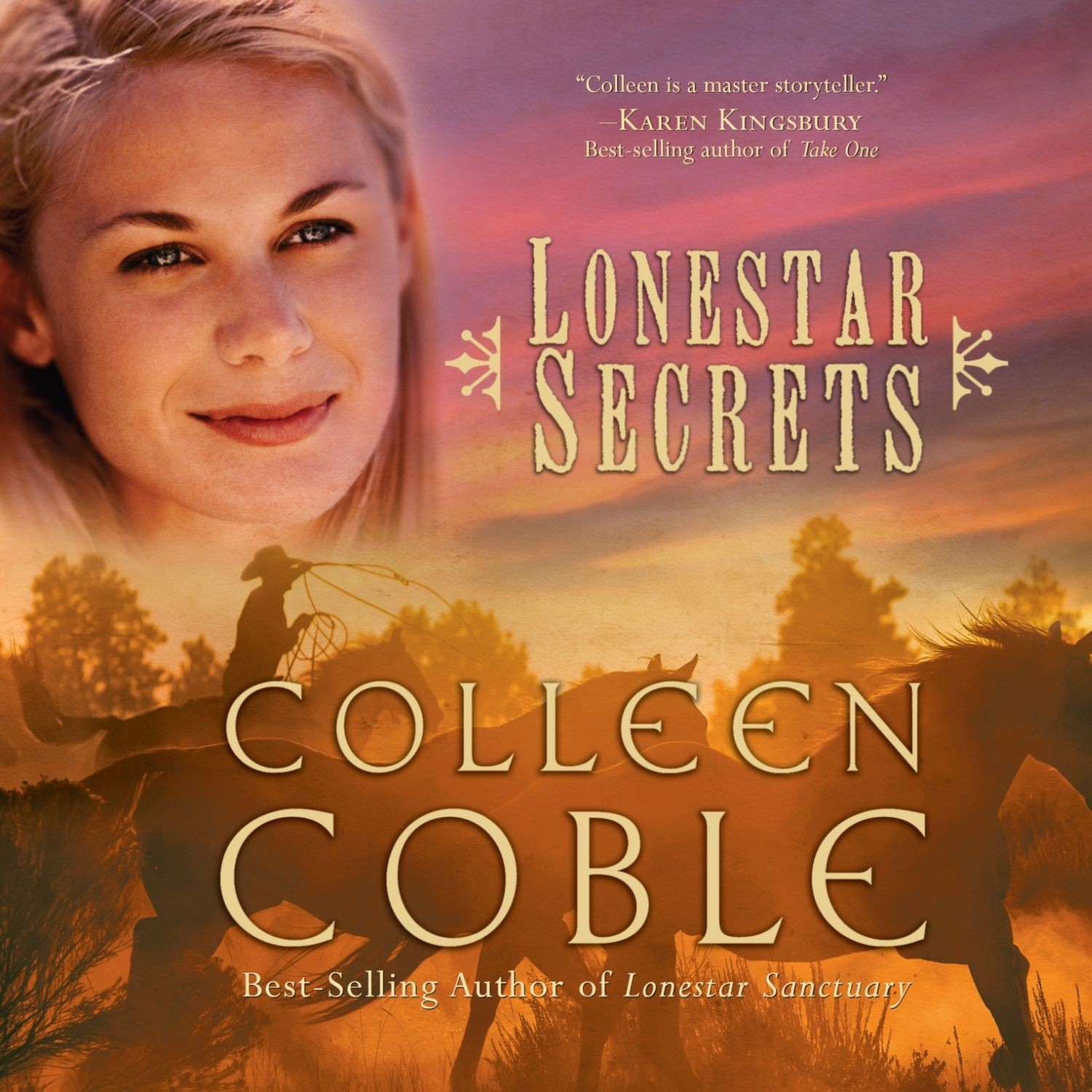 Printable Lonestar Secrets Audiobook Cover Art