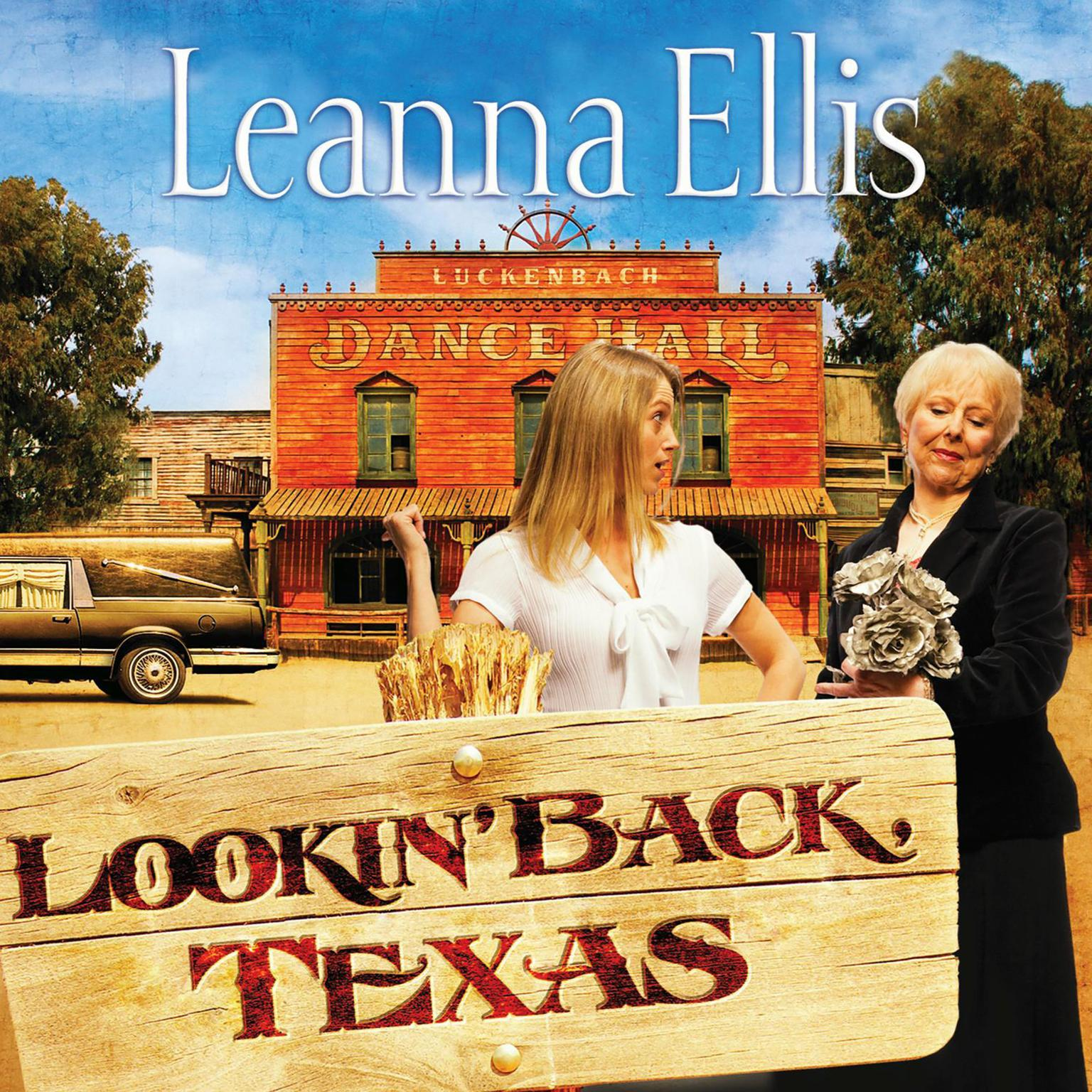 Printable Lookin' Back Texas Audiobook Cover Art