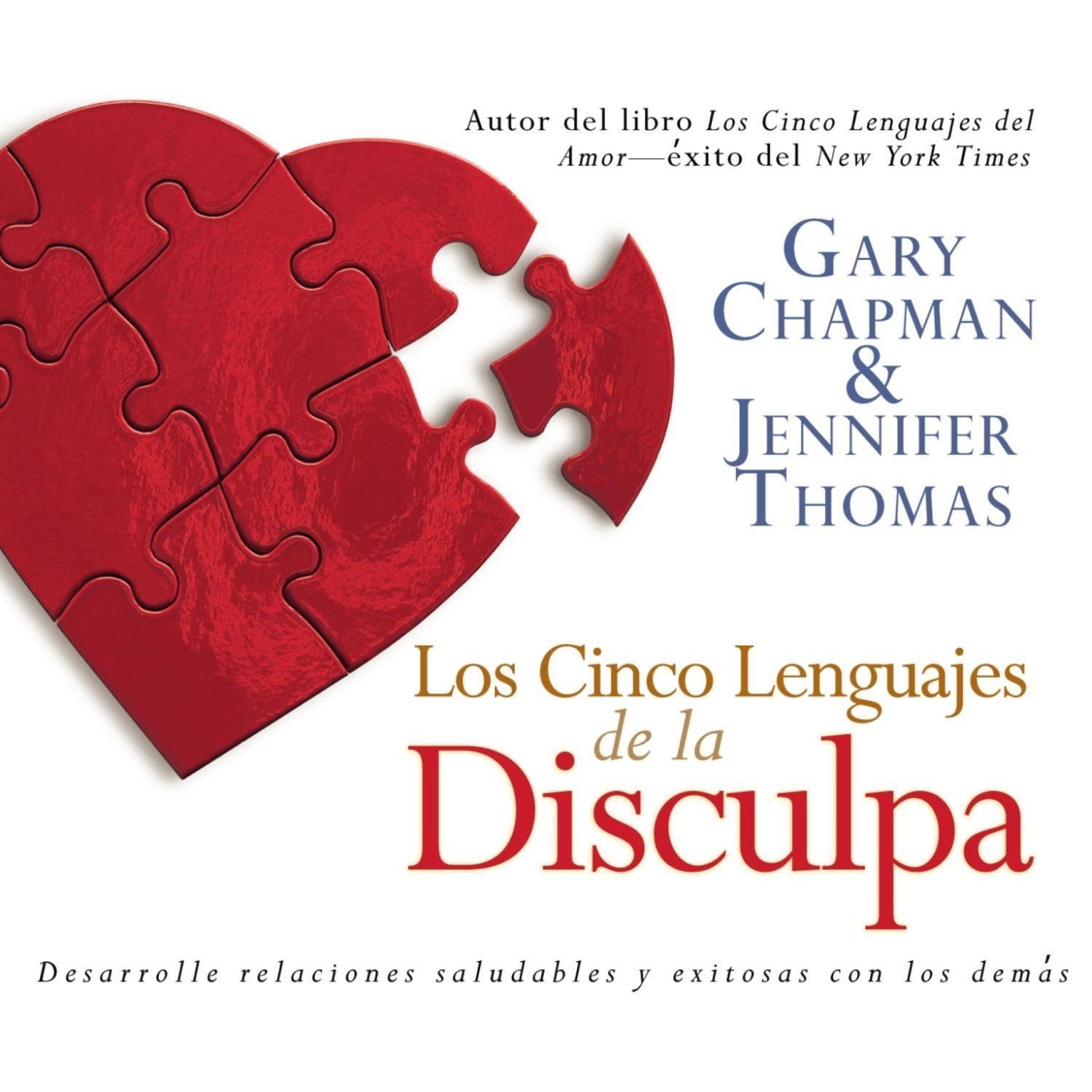 Printable Los Cinco Lenguajes de la Disculpa Audiobook Cover Art
