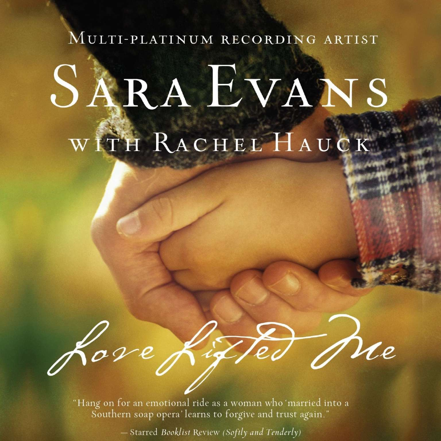 Printable Love Lifted Me Audiobook Cover Art