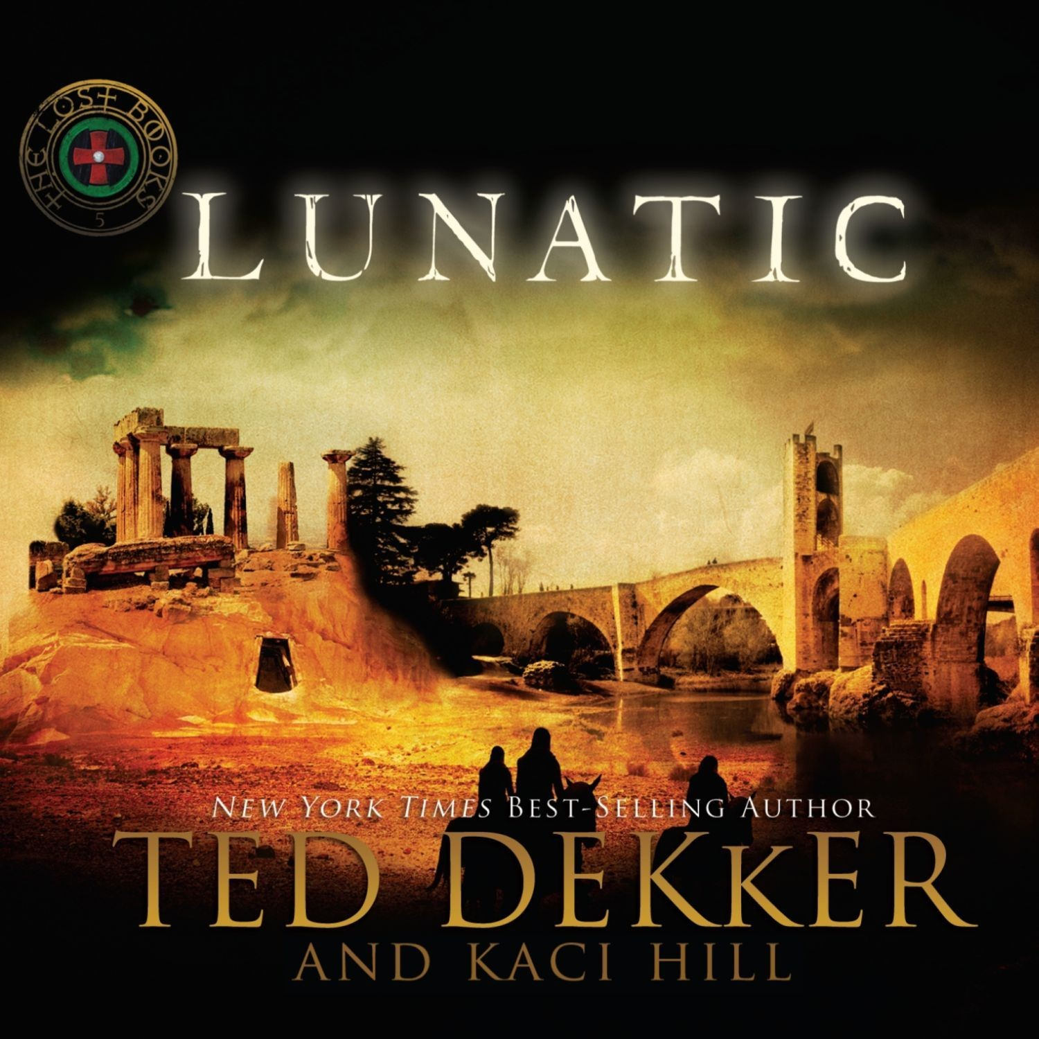 Printable Lunatic: A Lost Book Audiobook Cover Art