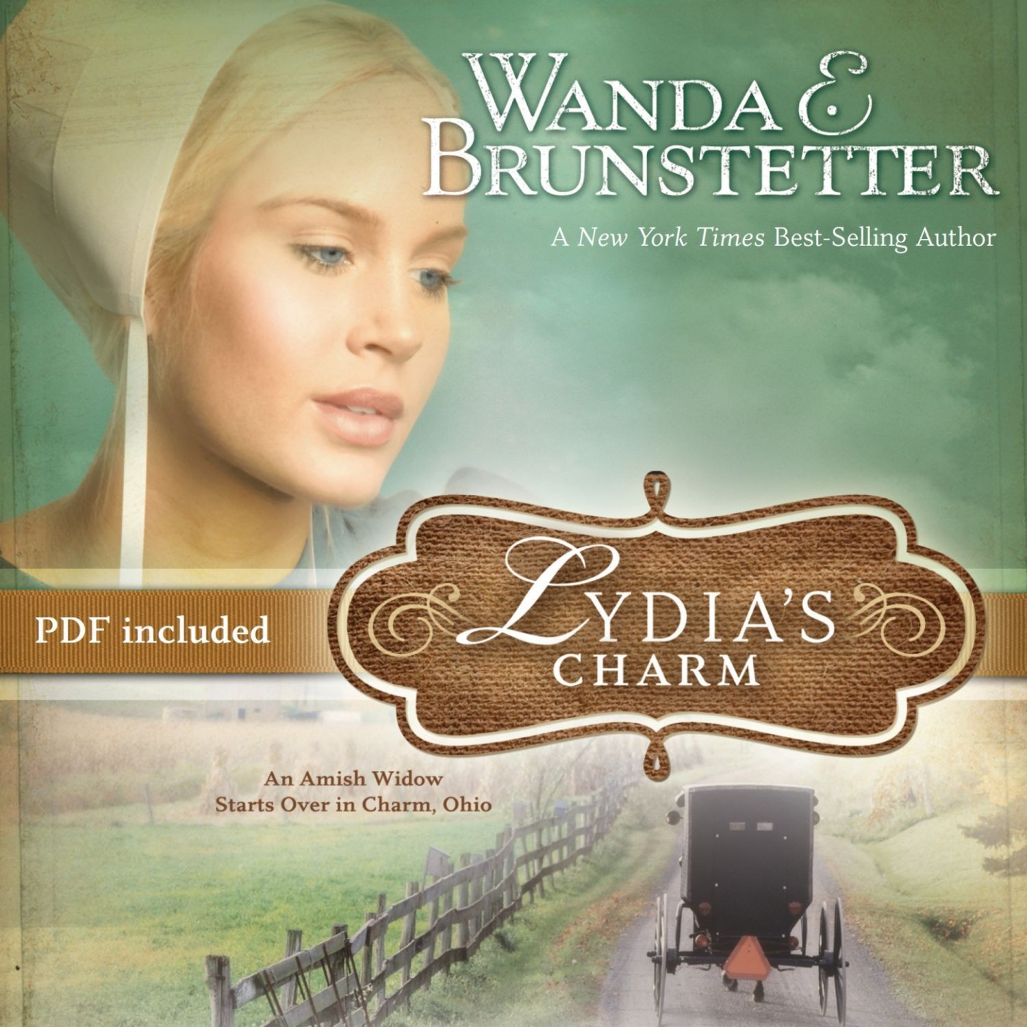Printable Lydia's Charm: An Amish Widow Starts Over in Charm, Ohio Audiobook Cover Art