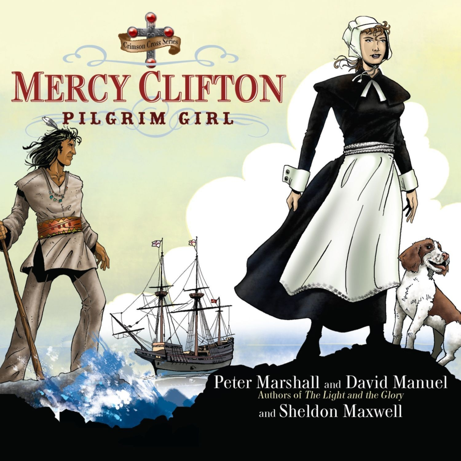 Printable Mercy Clifton: Pilgrim Girl Audiobook Cover Art