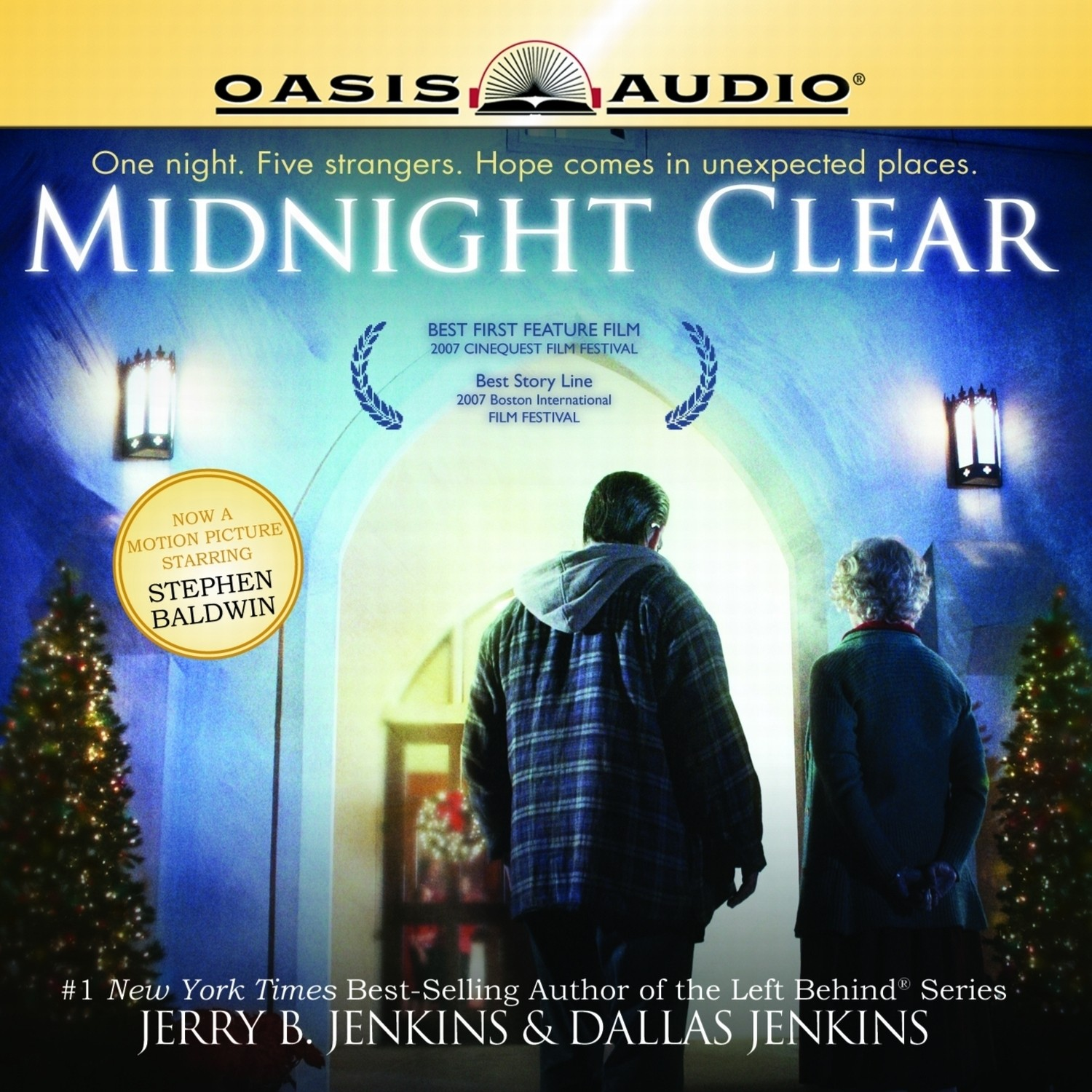 Printable Midnight Clear Audiobook Cover Art