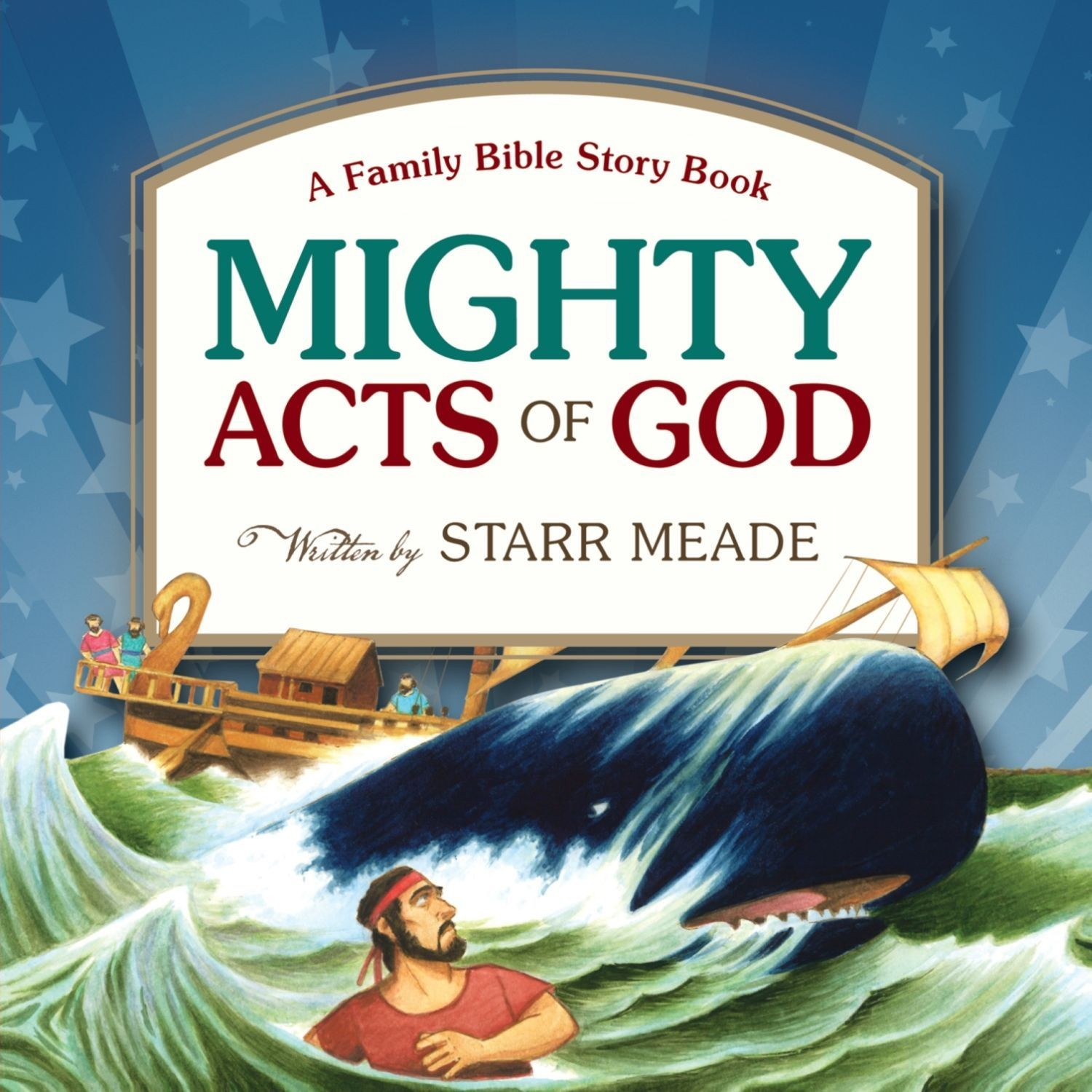 Printable Mighty Acts of God: A Family Bible Story Book Audiobook Cover Art