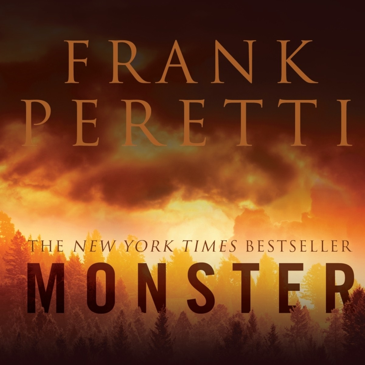 Printable Monster Audiobook Cover Art