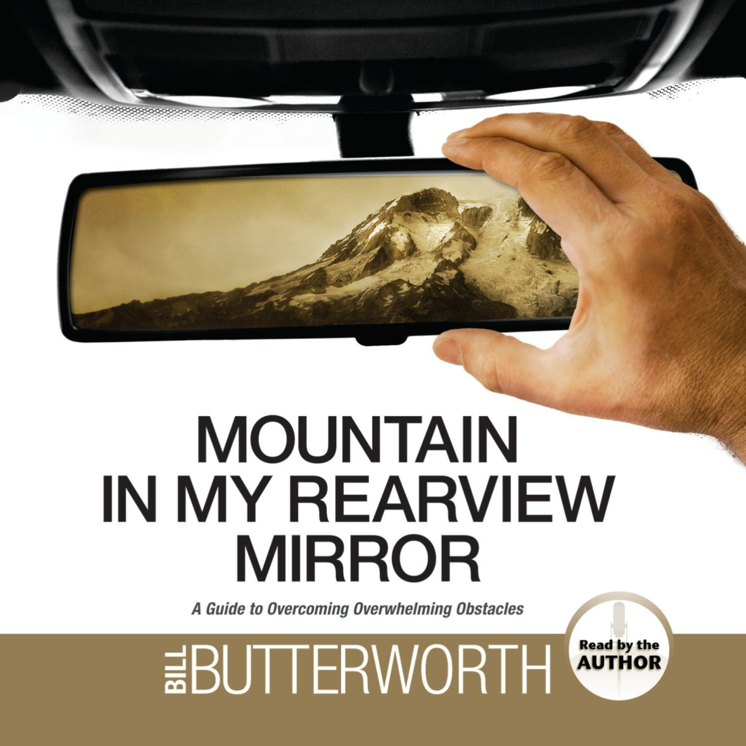 Printable Mountain in My Rearview Mirror: A Guide to Overcoming Overwhelming Obstacles Audiobook Cover Art