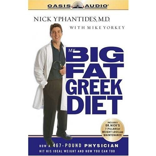 Printable My Big Fat Greek Diet: How a 467 Pound Physician Hit His Ideal Weight and You Can Too Audiobook Cover Art