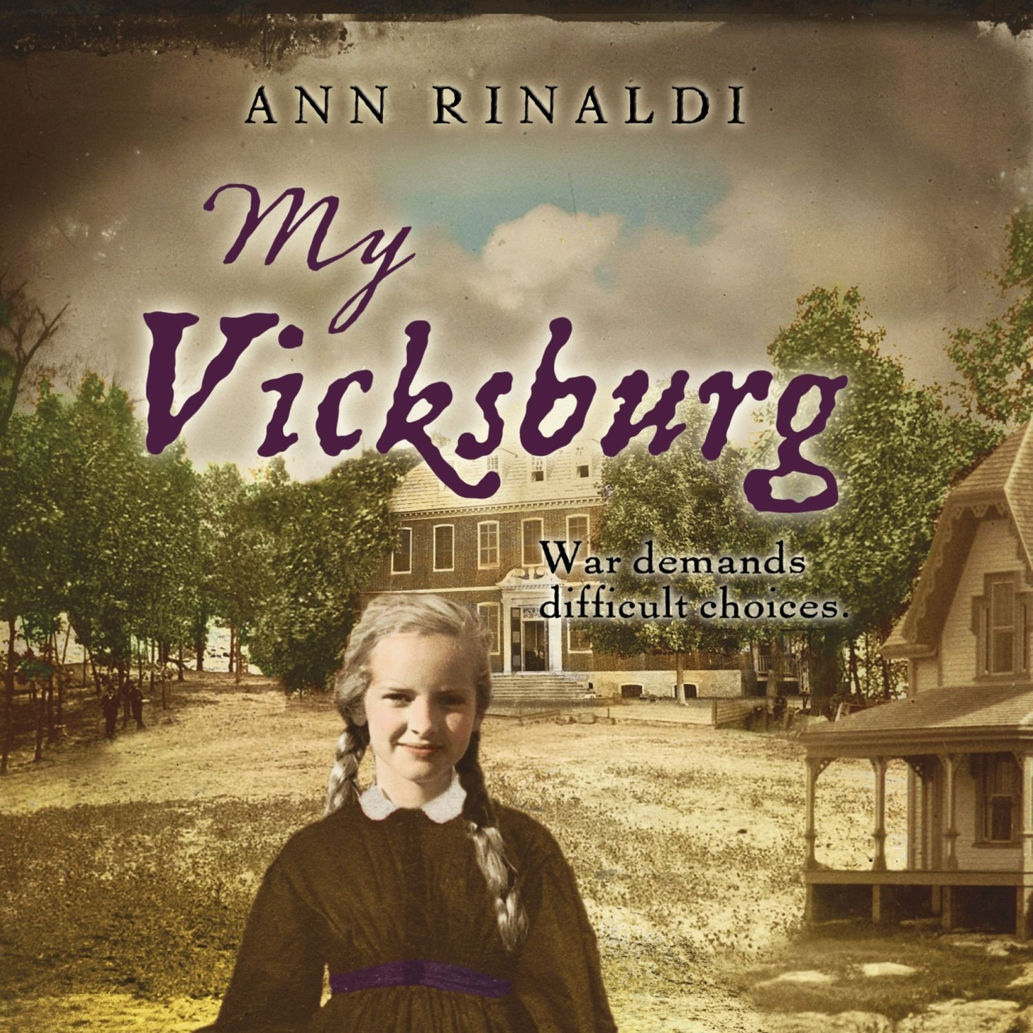 Printable My Vicksburg Audiobook Cover Art