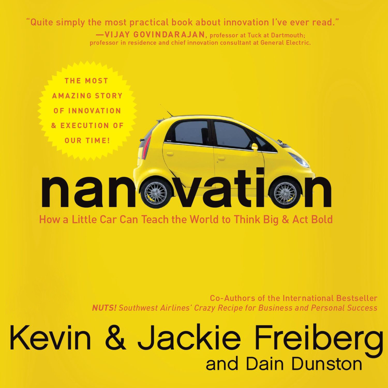 Printable Nanovation: How a Little Car Can Teach the World to Think Big and Act Bold Audiobook Cover Art