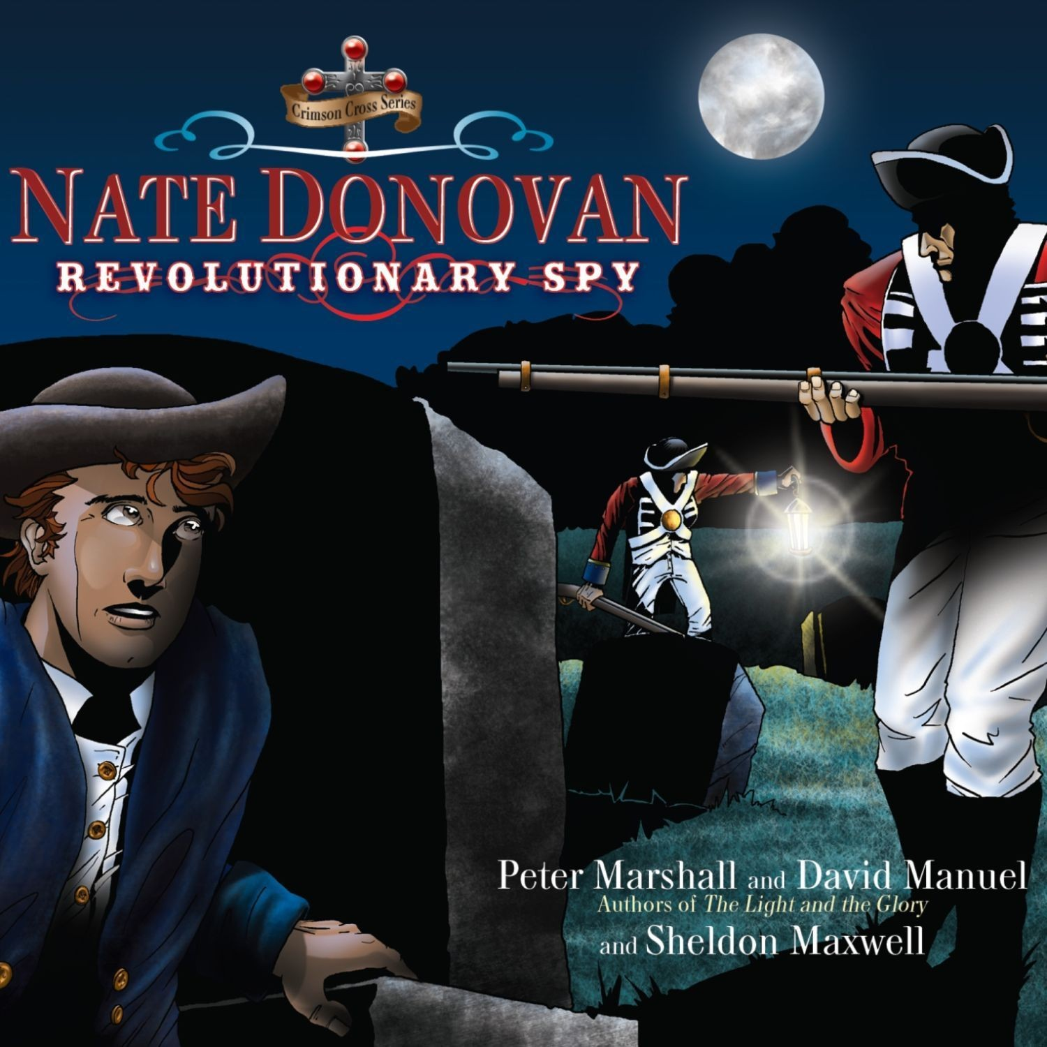 Printable Nate Donovan: Revolutionary Spy Audiobook Cover Art